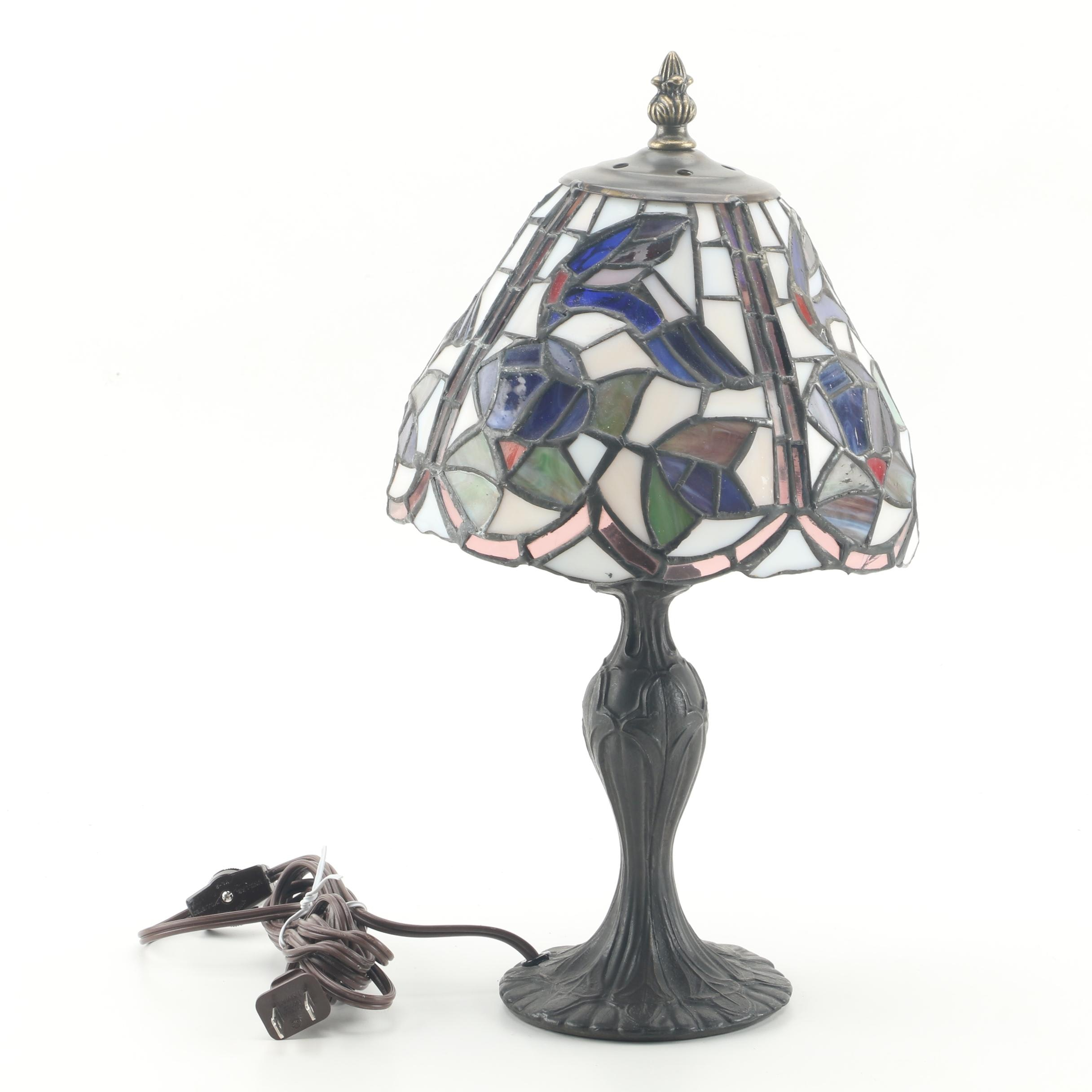 """Paul Sahlin Tiffany"" Stained Glass Lamp"