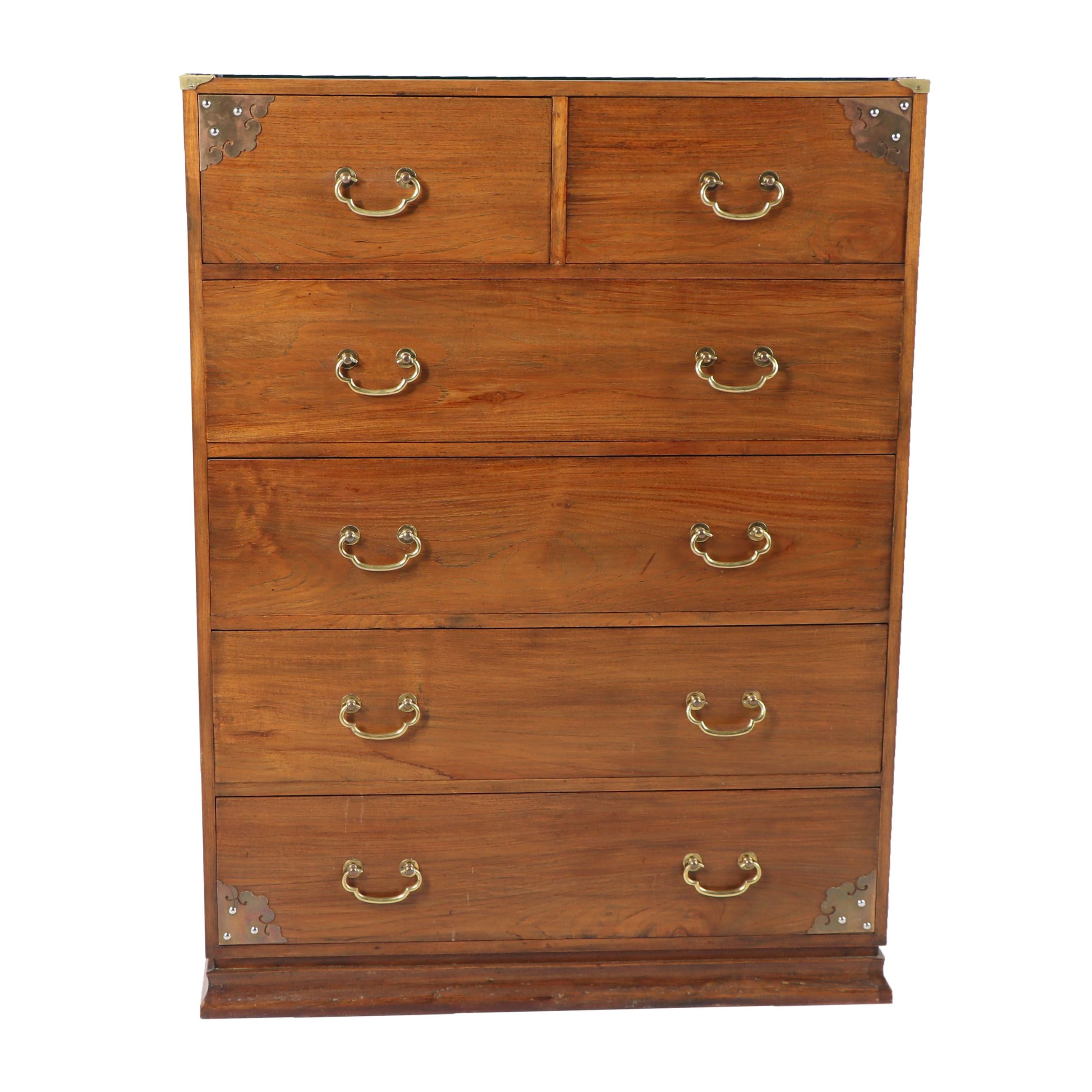 Vintage Chinese Style Chest of Drawers