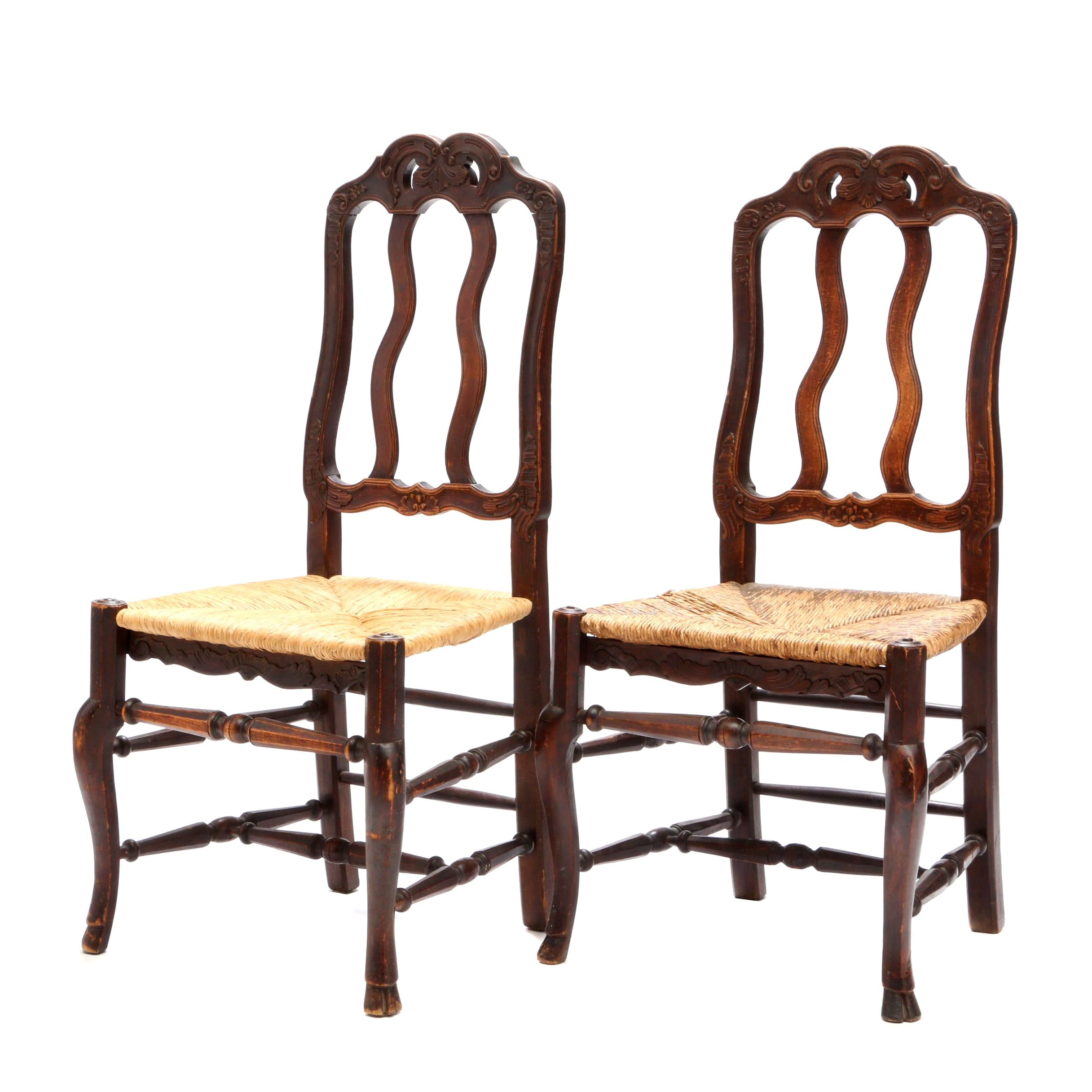 French Country Style Side Chairs