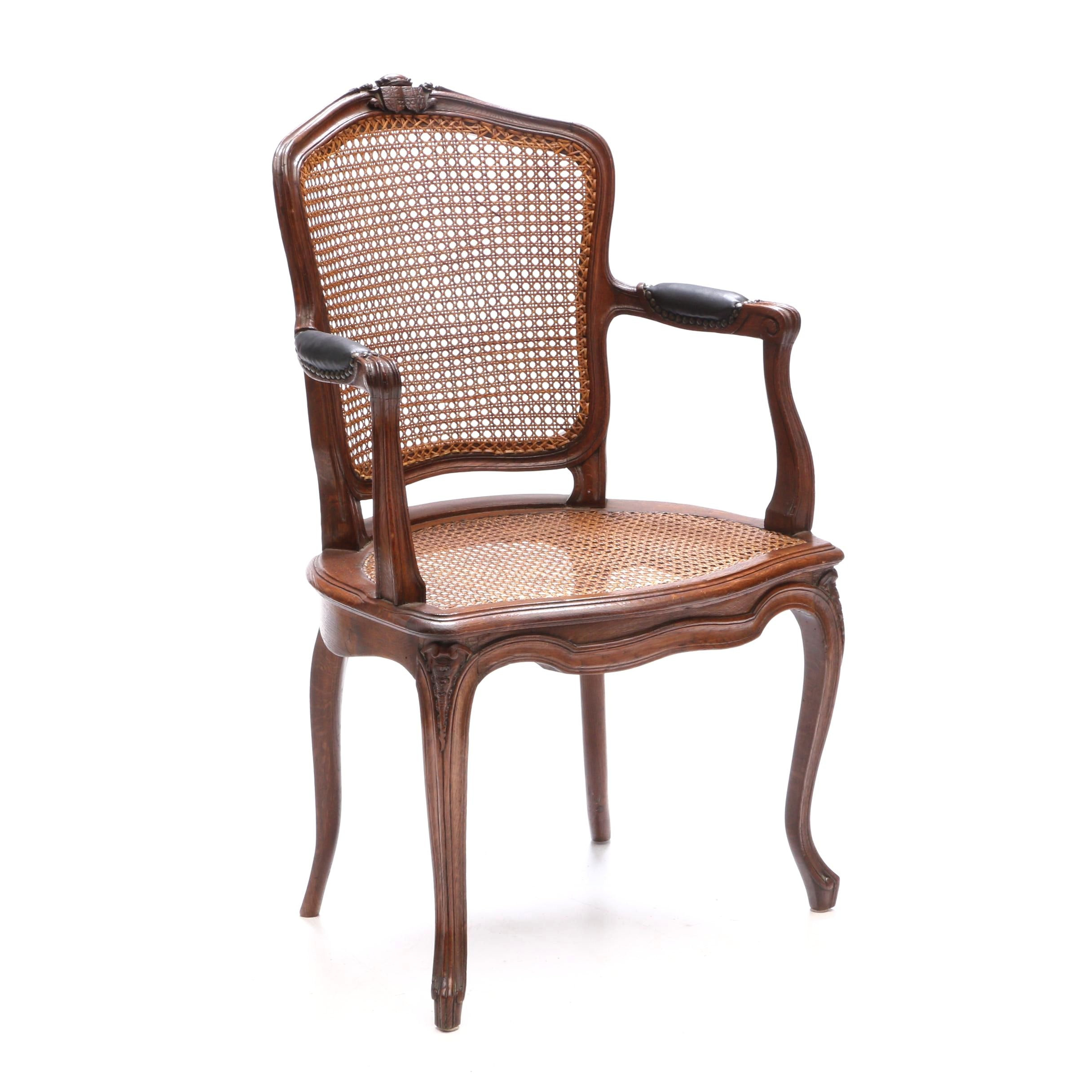 Vintage French Provincial Style Armchair