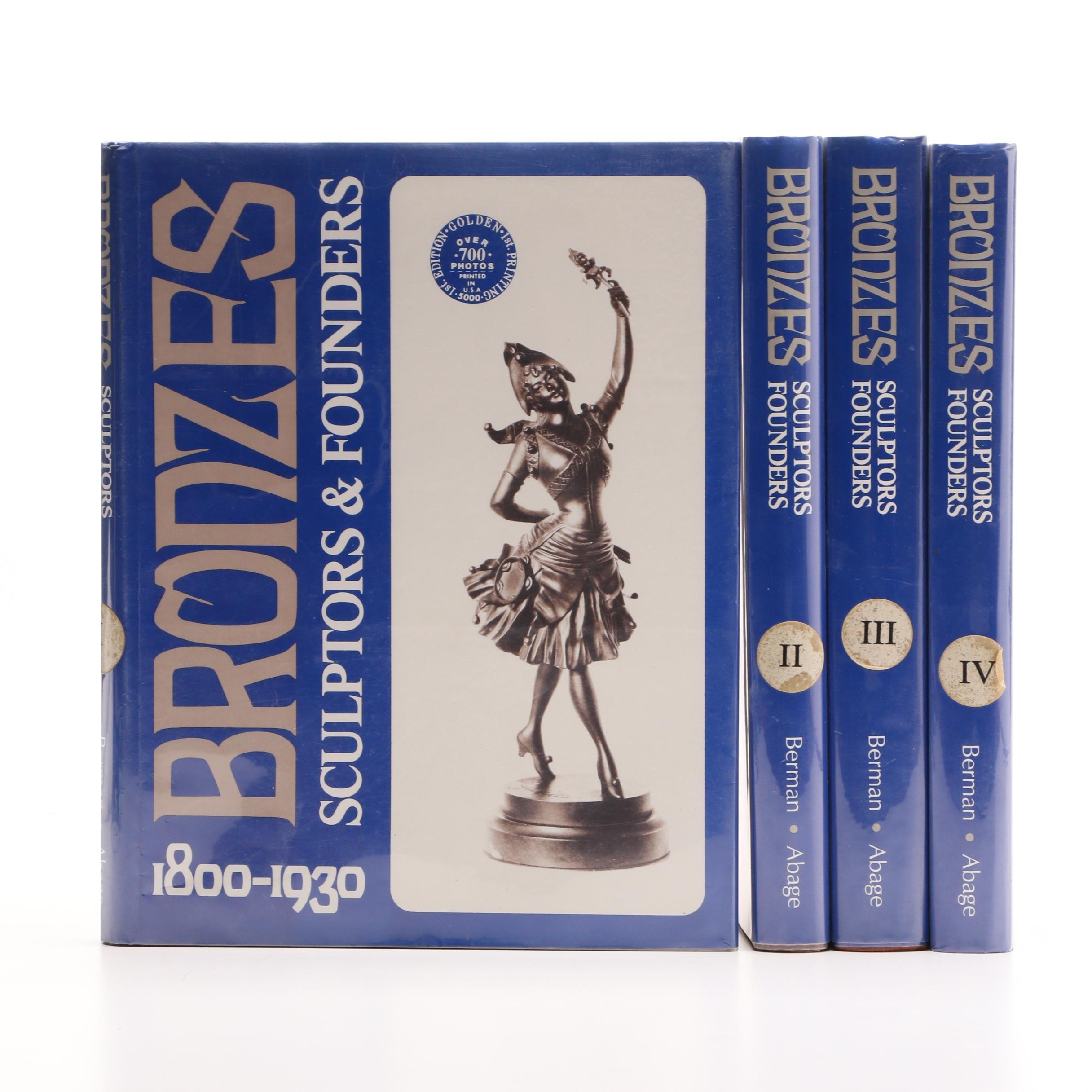 """""""Bronzes: 1800-1930"""" Hardcover Set"""