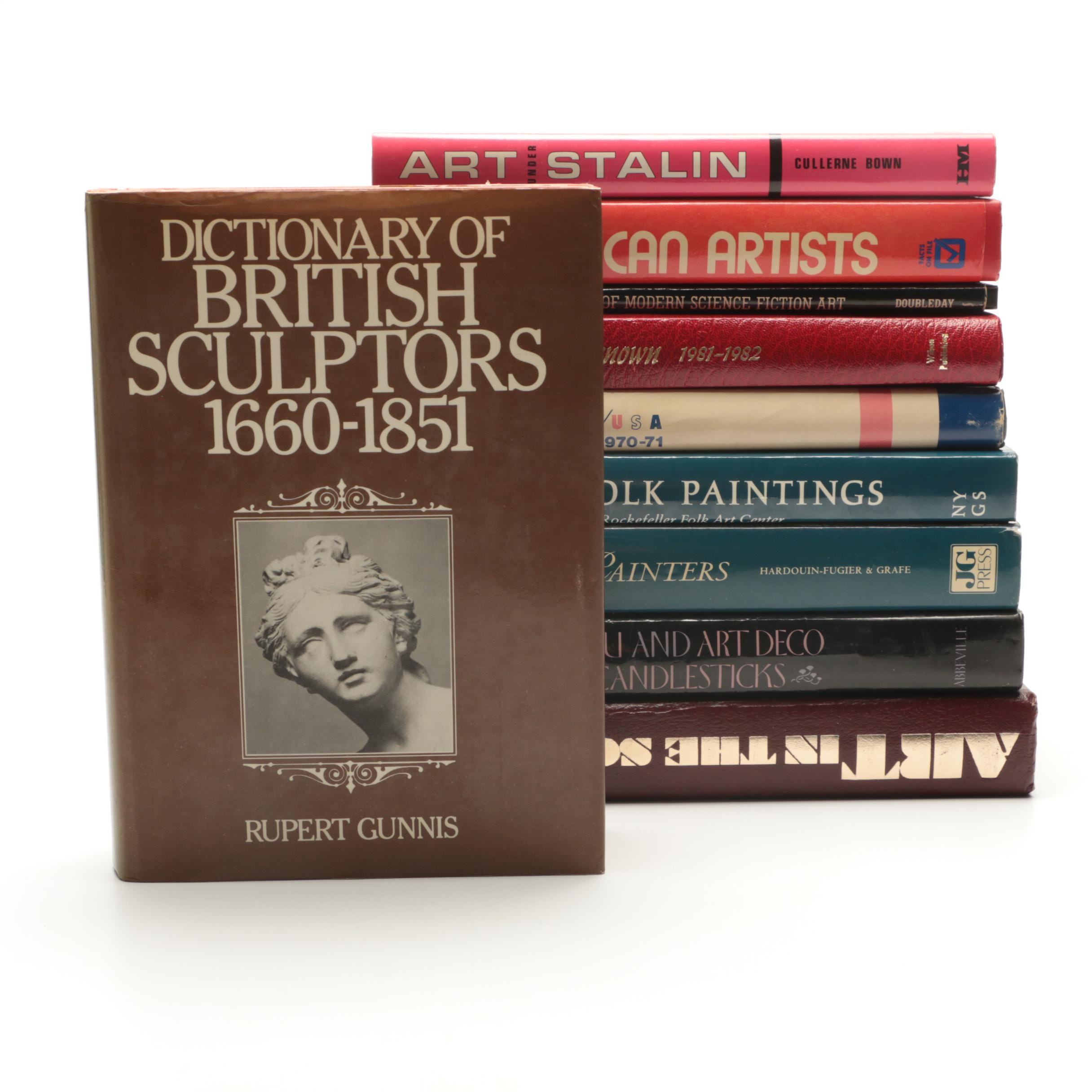 Group of Hardcover American Art Books