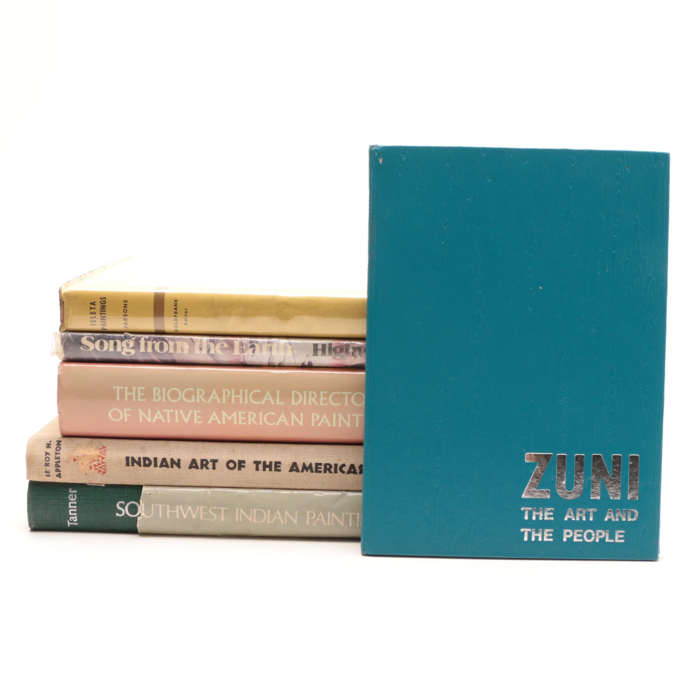 Group of Native American Art Books