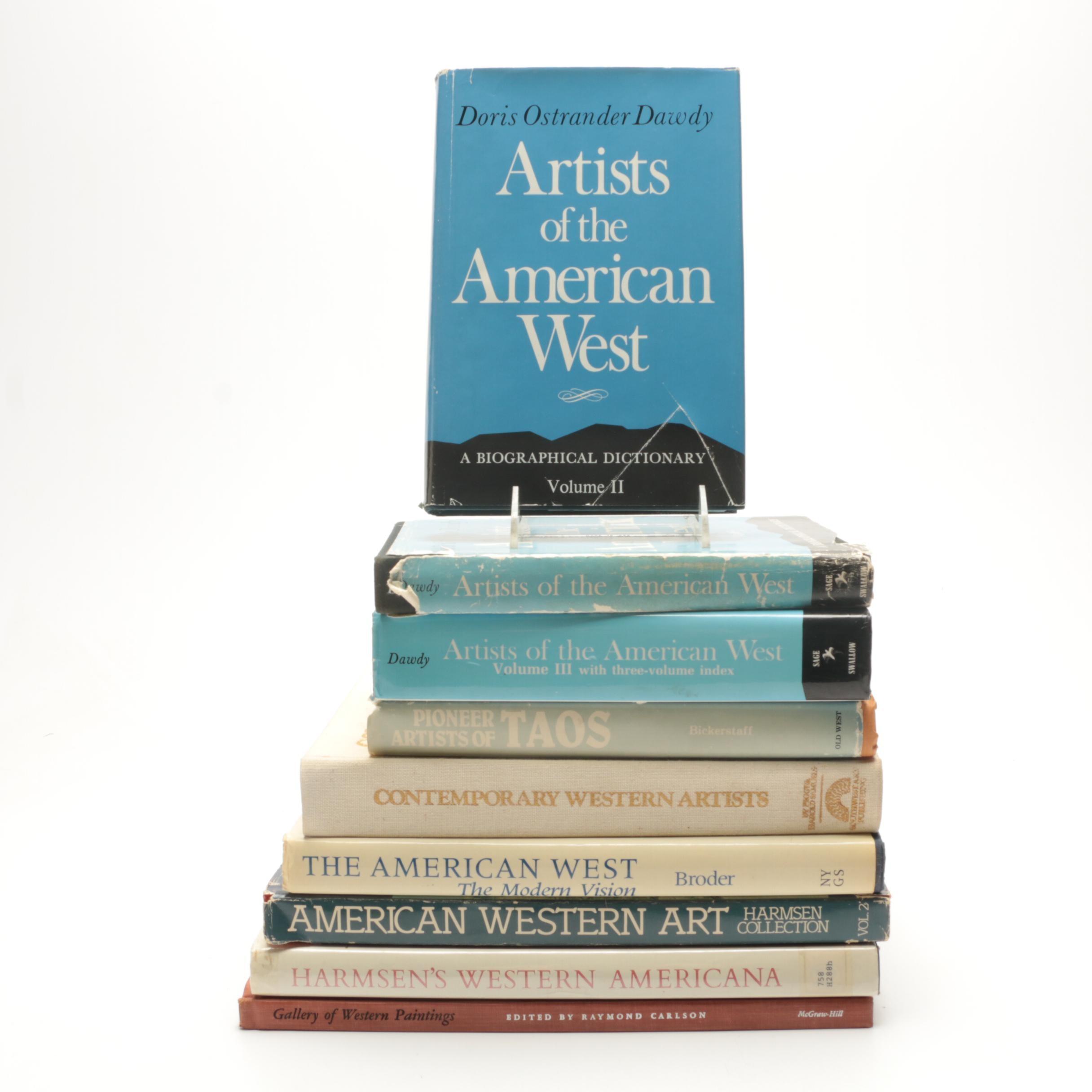 American West Art Books