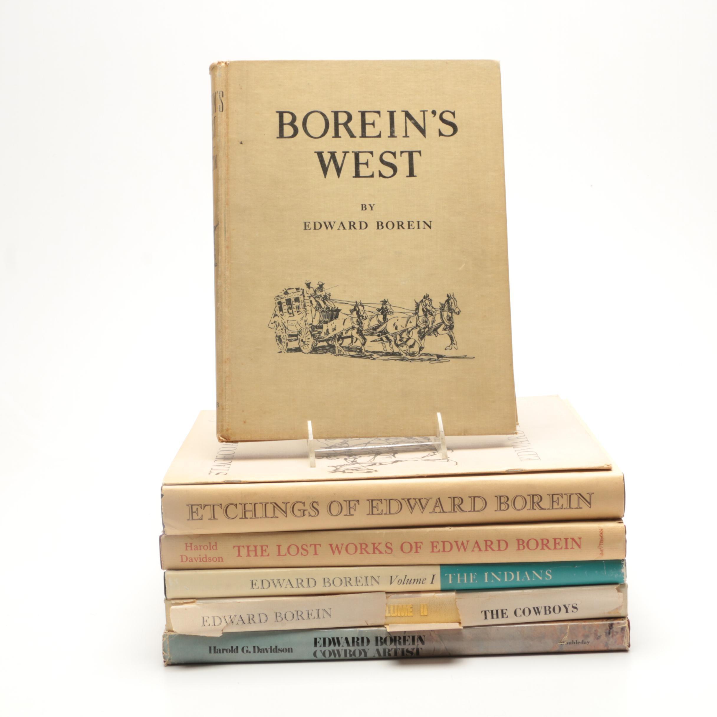 Group of Edward Borein Art Books