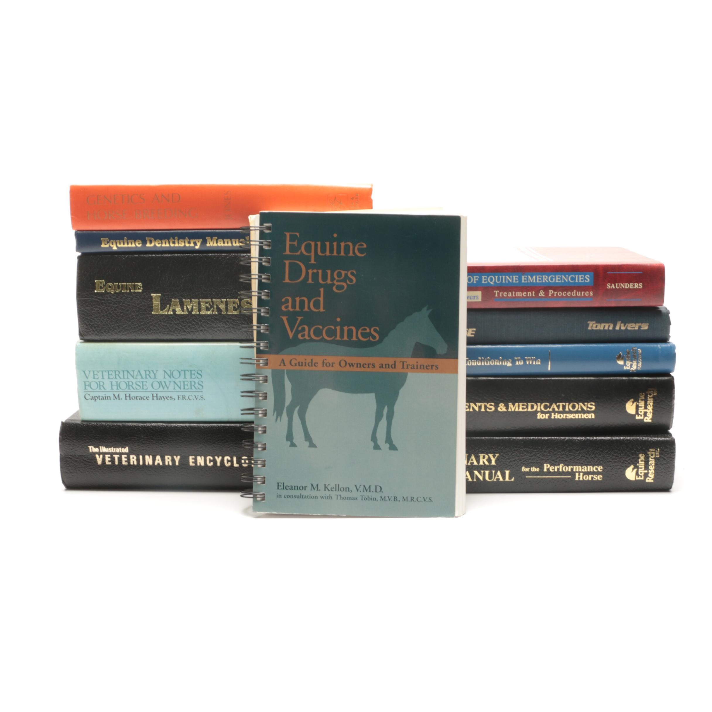 Group of Horse Books