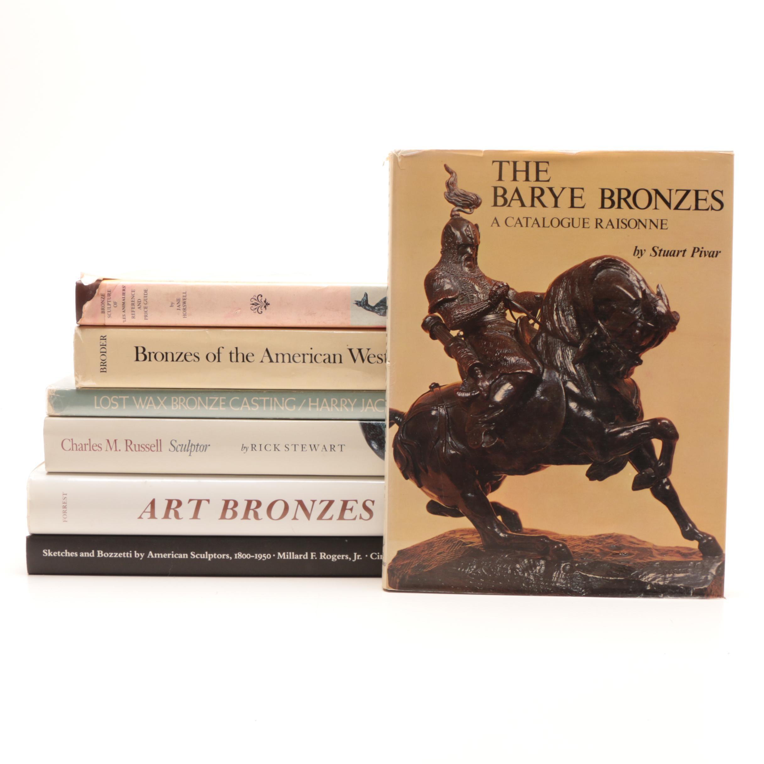 Bronze Sculpture Art Books