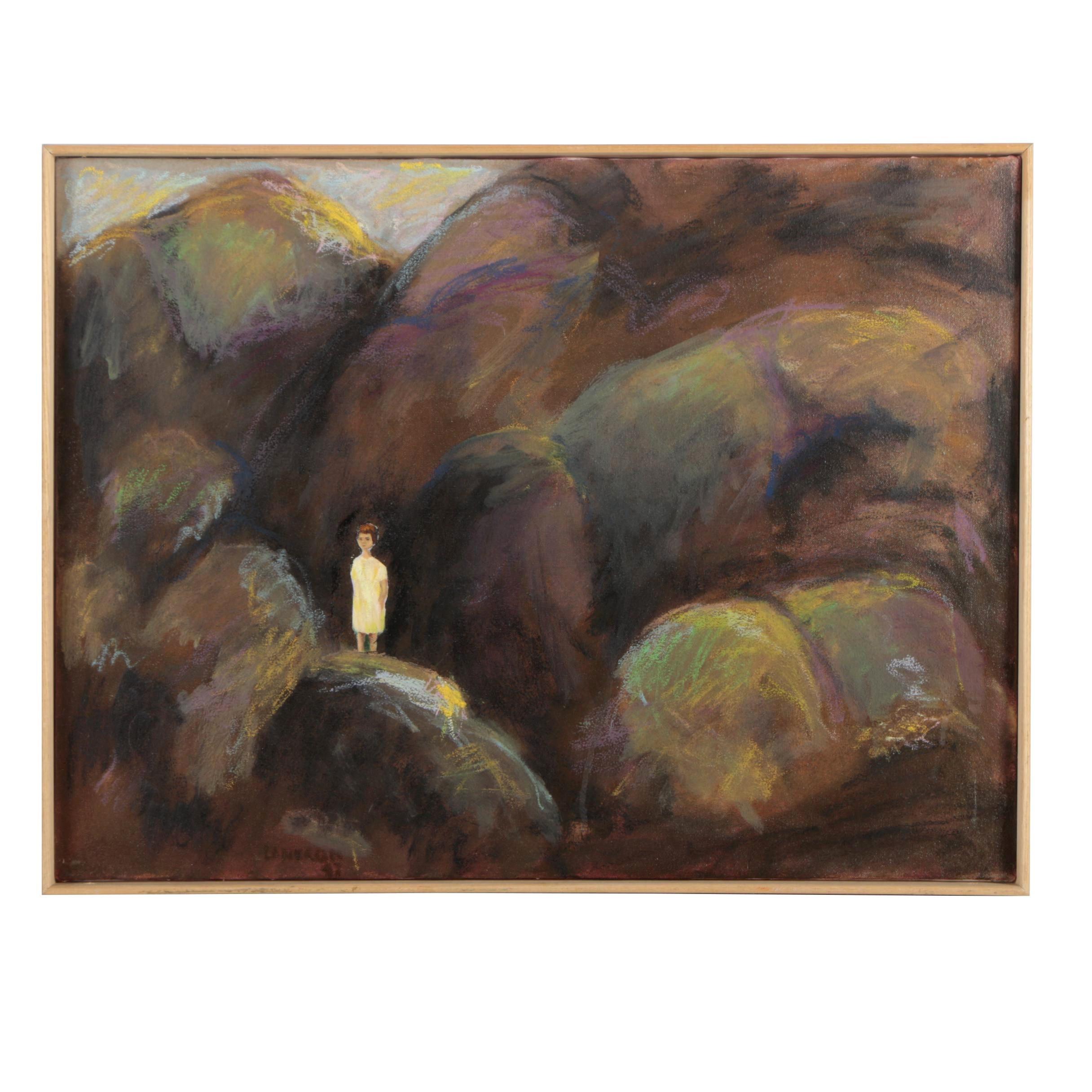 V. Lanzkron Oil Painting