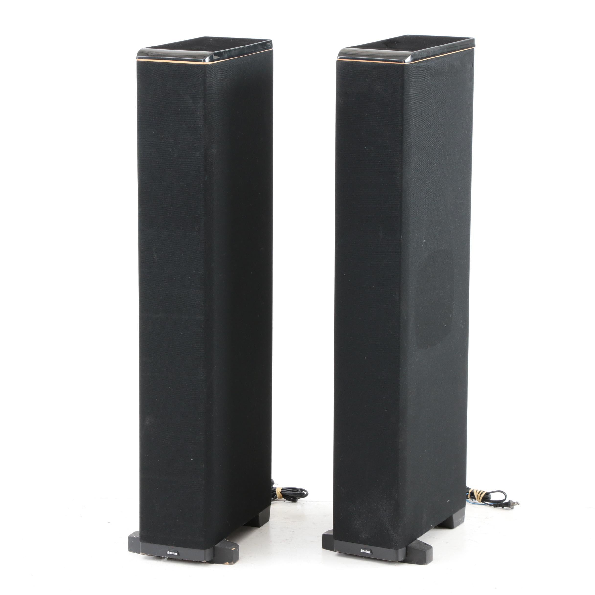 Pair of Boston Acoustics Floor Speakers