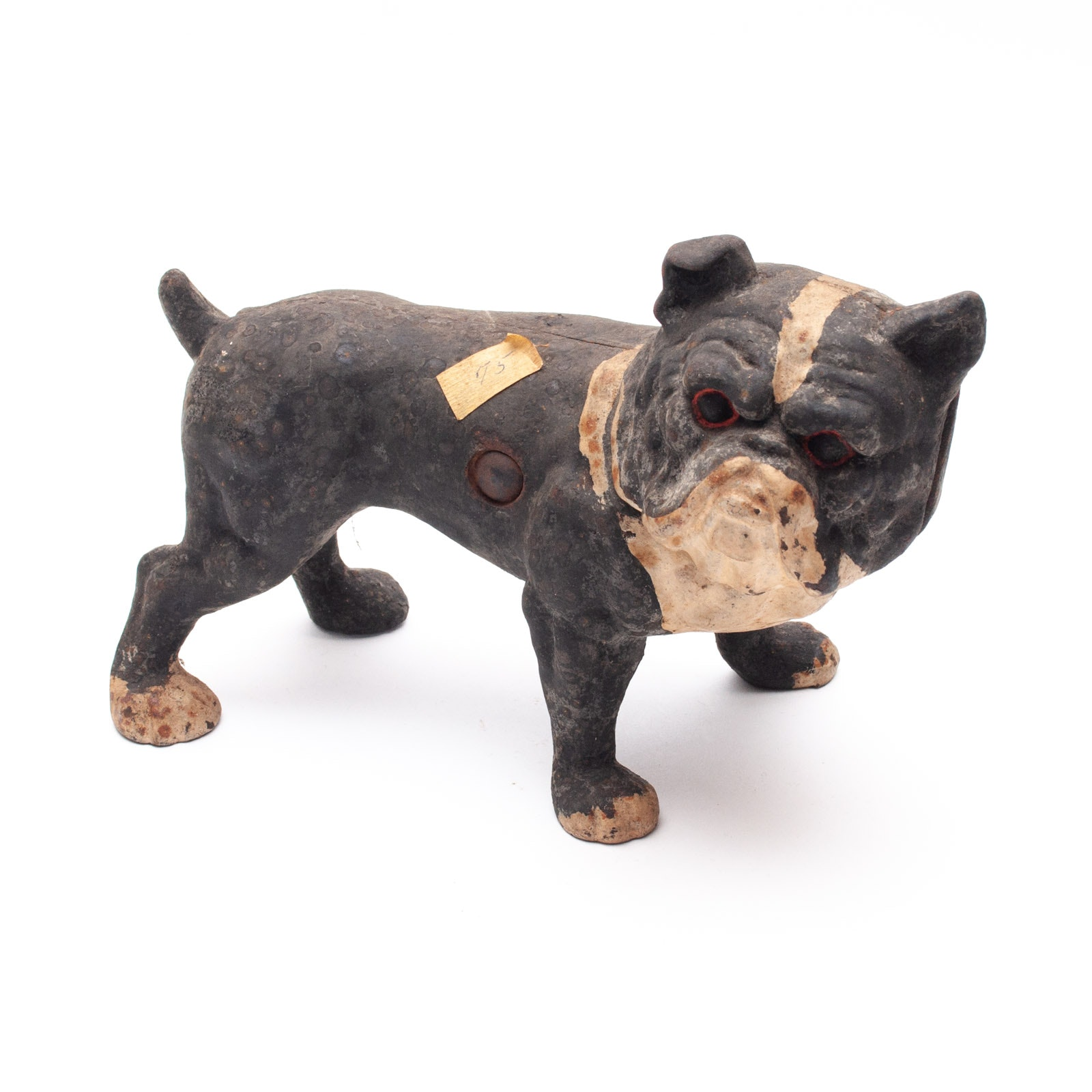 Cast Iron Bulldog Doorstop in the Style of Hubley