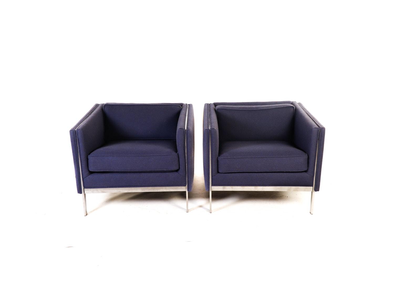 Milo Baughman for Thayer Coggin Club Chairs