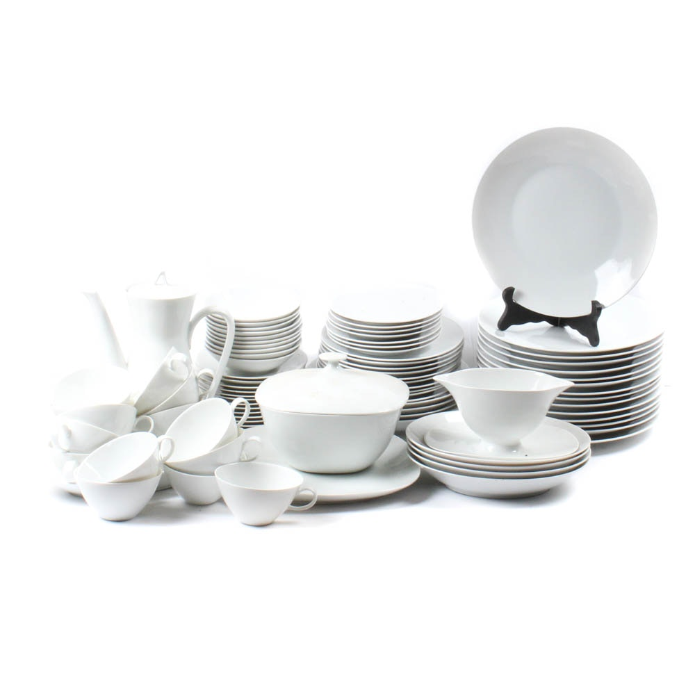 Mid-Century Modern Raymond Loewry Designed Rosenthal Dinnerware