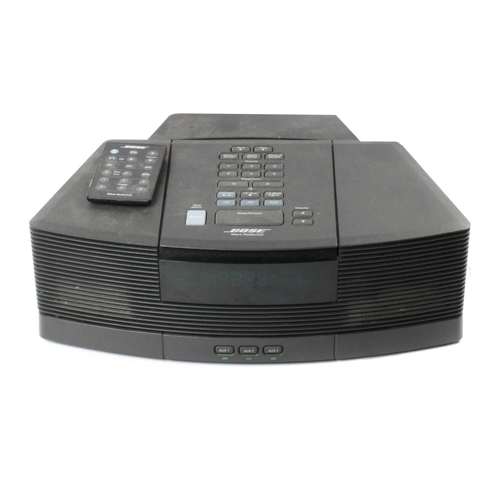 Bose Wave Radio/CD Player with Pedestal and Remote