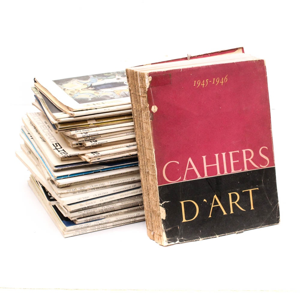 """1945 """"Cahiers D'Art"""" and Other Art Magazines"""