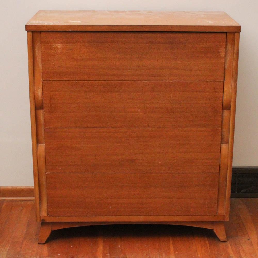 Mid Century Modern Tri-Bond Furniture Chest of Drawers