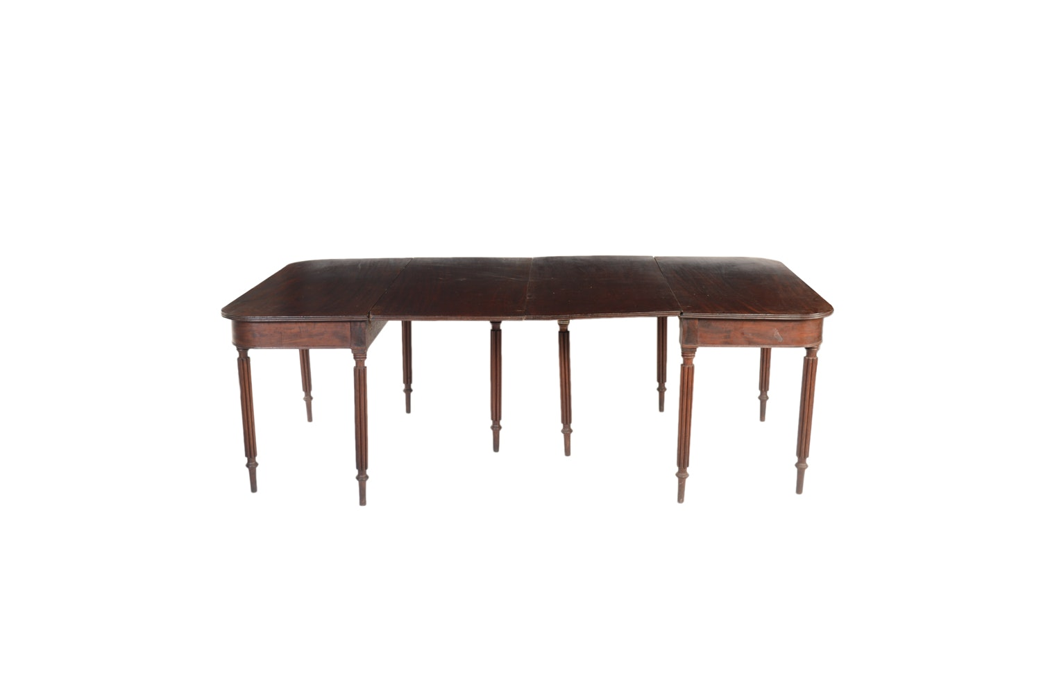 19th Century Federal Style Mahogany Dining Table