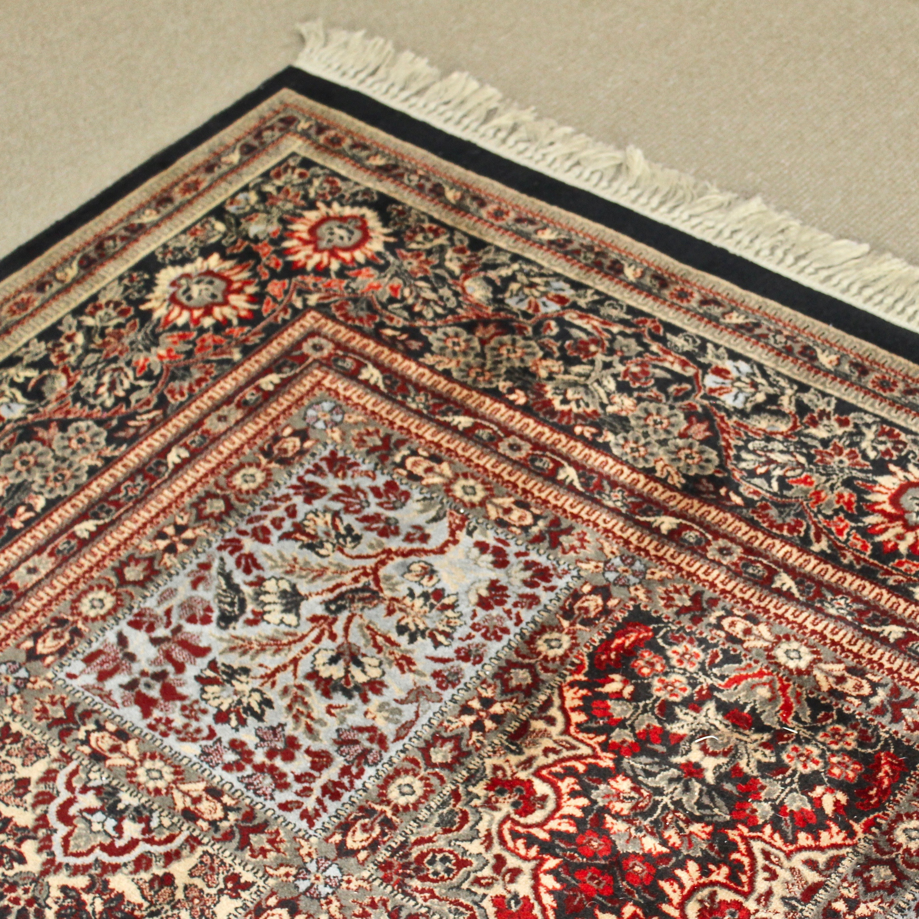 Hand-Knotted Couristan Belgium Area Rug