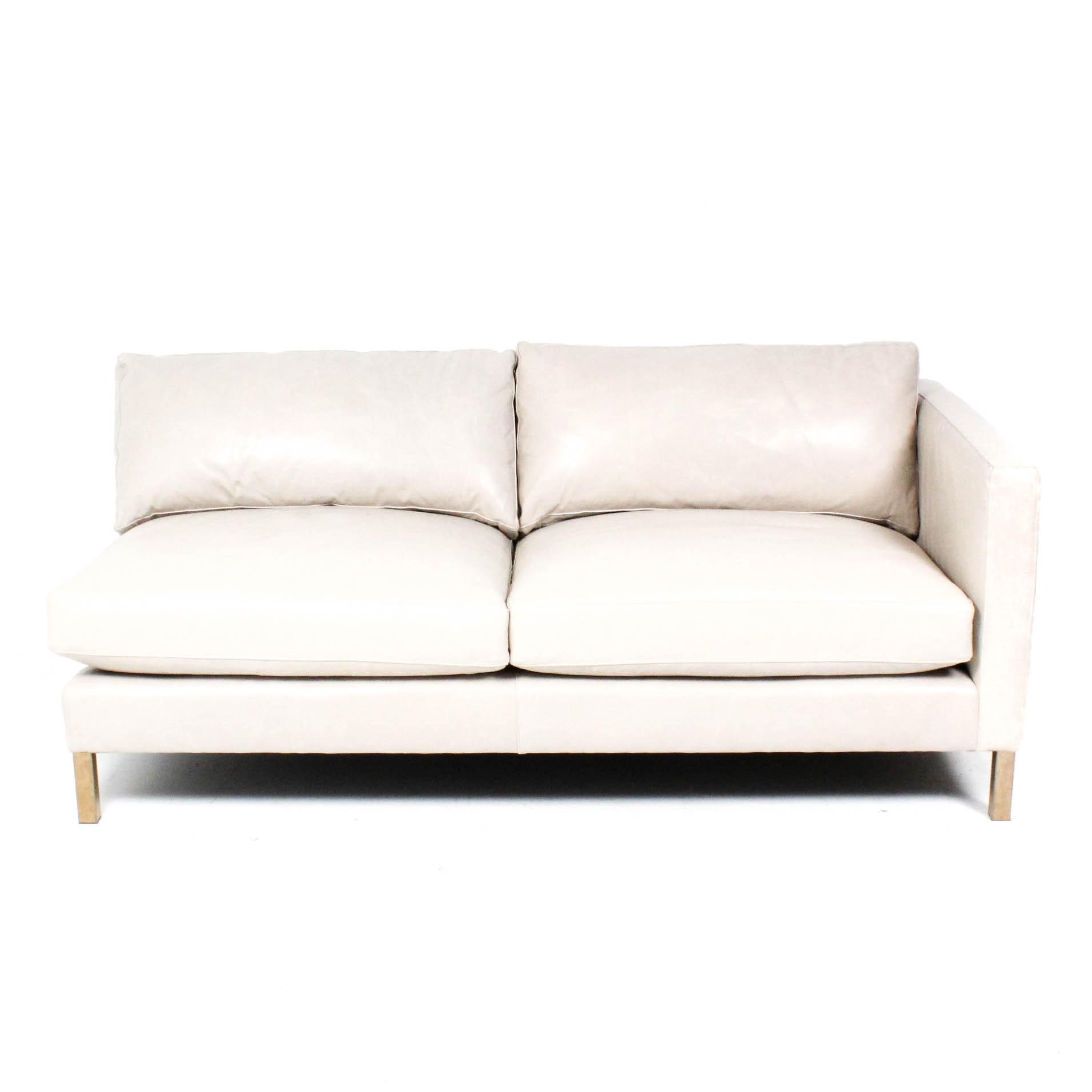 Arhaus Leather Sofa