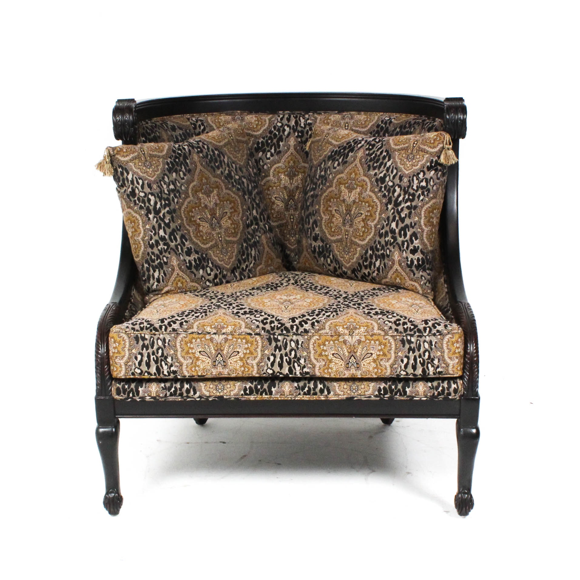 Custom Upholstered Oversize Chair