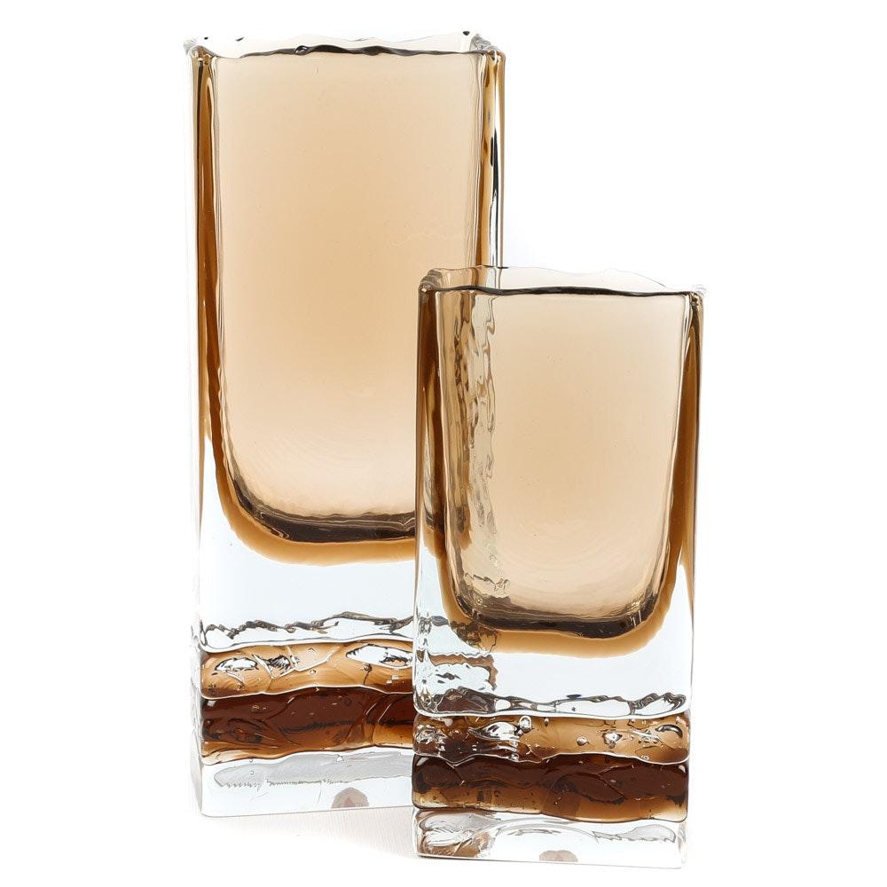 Beránek Art Glass Vases