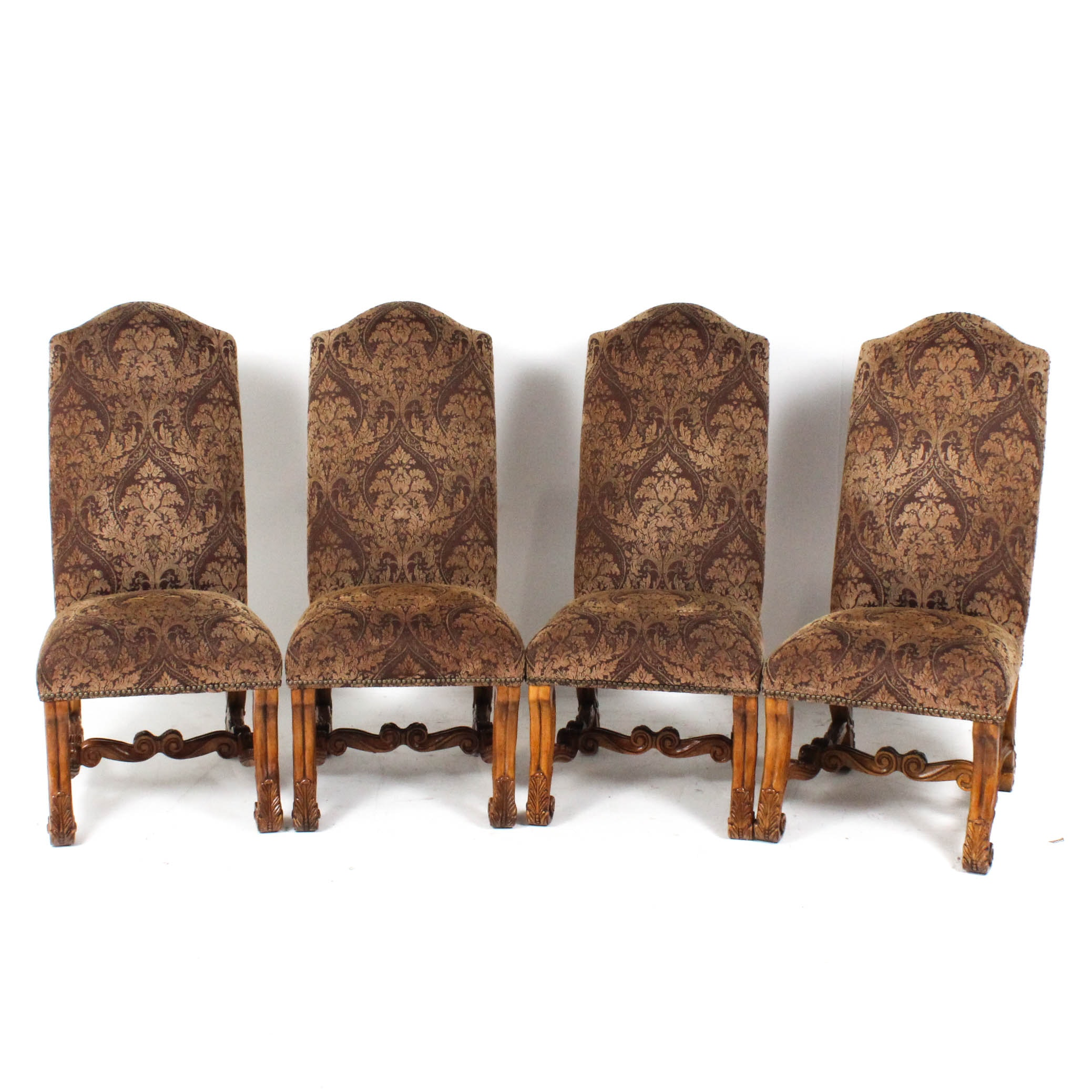 Michael Amini Upholstered Side Chairs