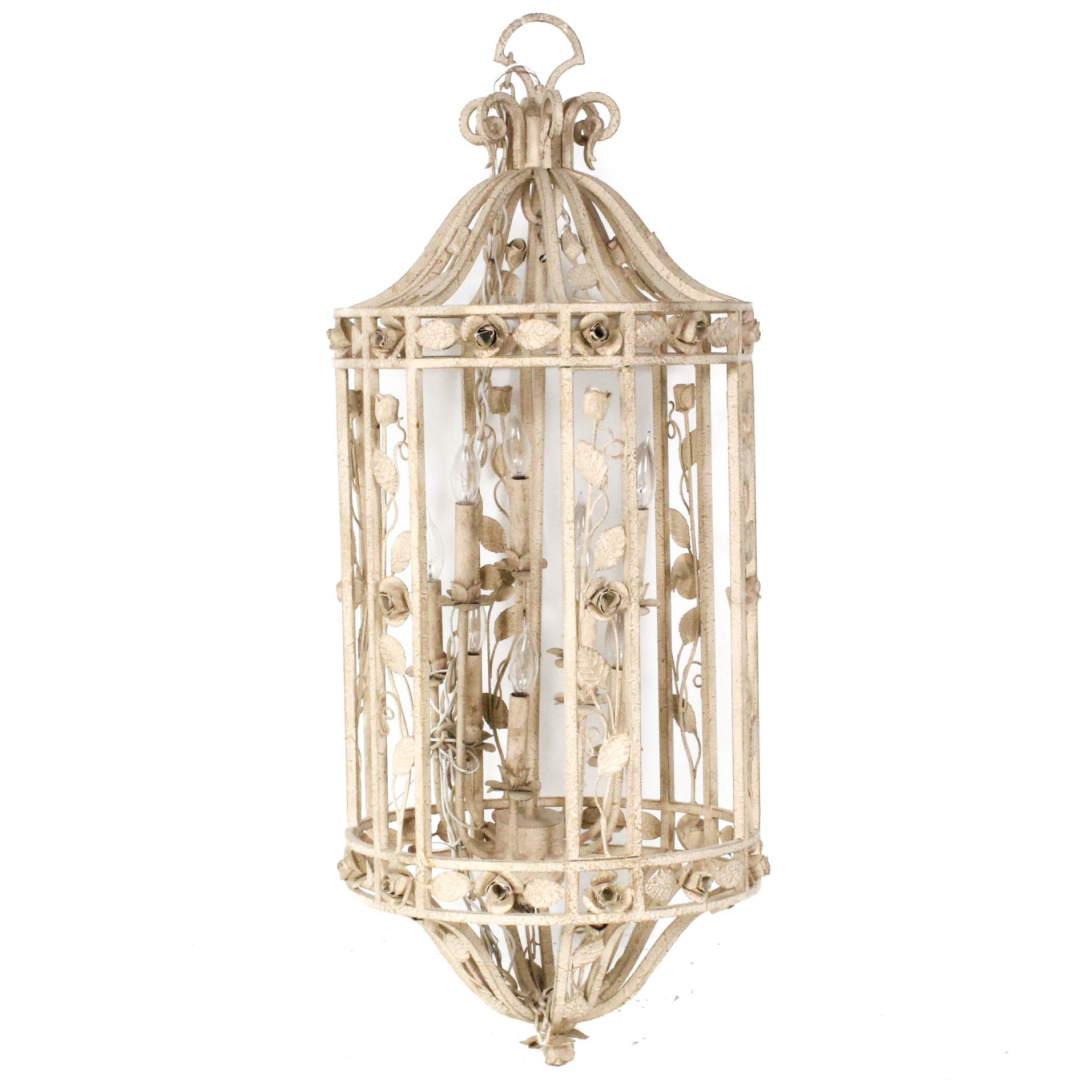 Wrought Metal Pendant Lamp