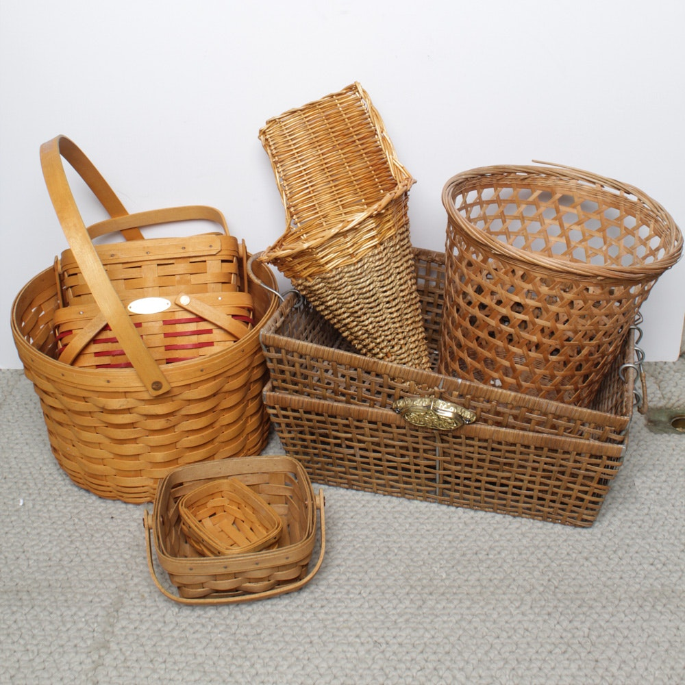 Baskets Featuring Longaberger