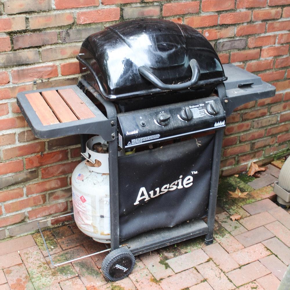 Aussie Bushman Elite Propane Grill with Cover