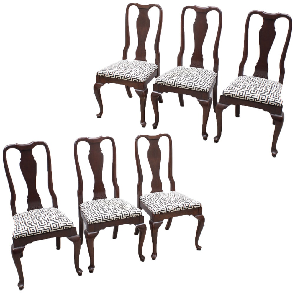 Queen Anne Style Cherry Dining Chairs