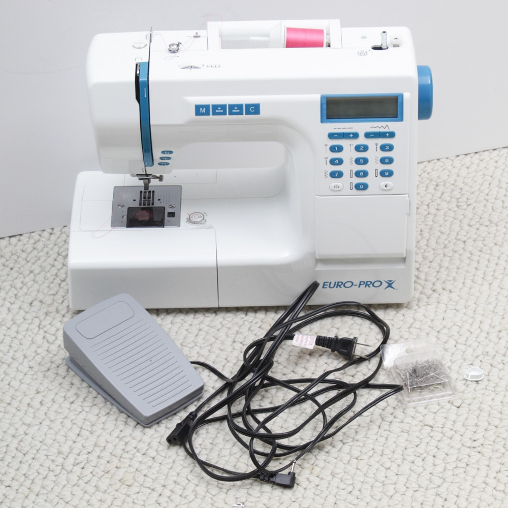 Euro Pro Electric Sewing Machine