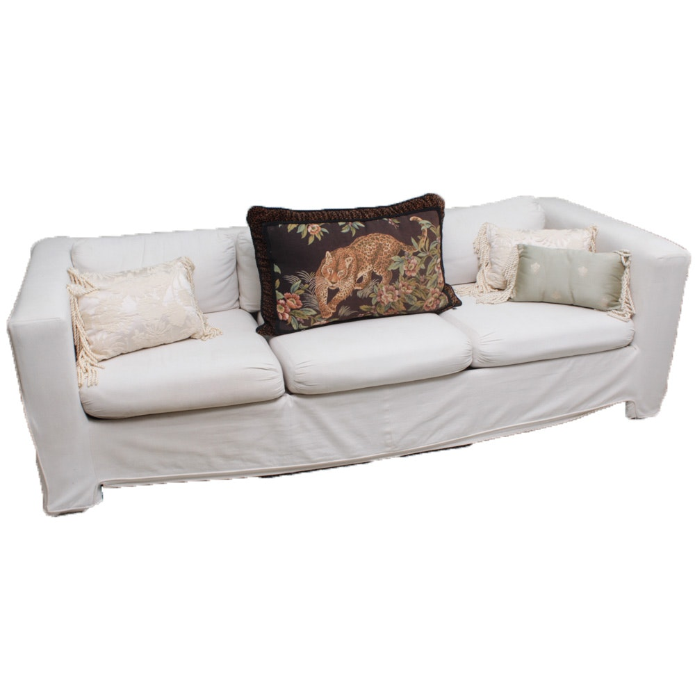 Contemporary Upholstered Sofa by Selig Monroe