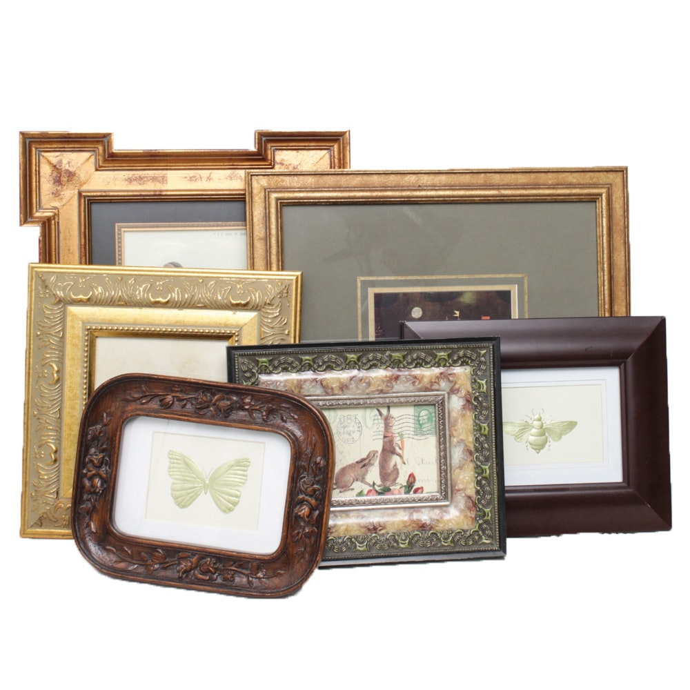 Decorative Frames, Embossed Paper and Offset Lithographs
