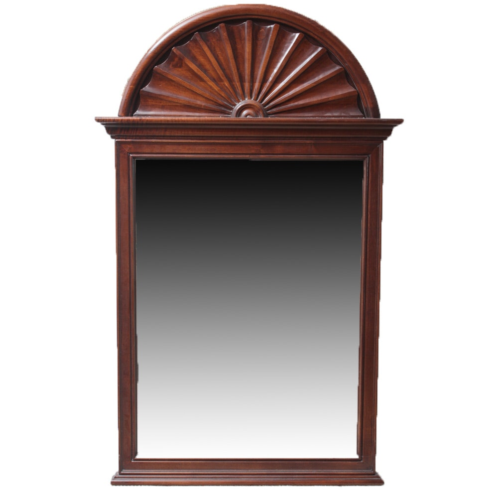 Vintage Large Scale Wall Mirror by Stroupe