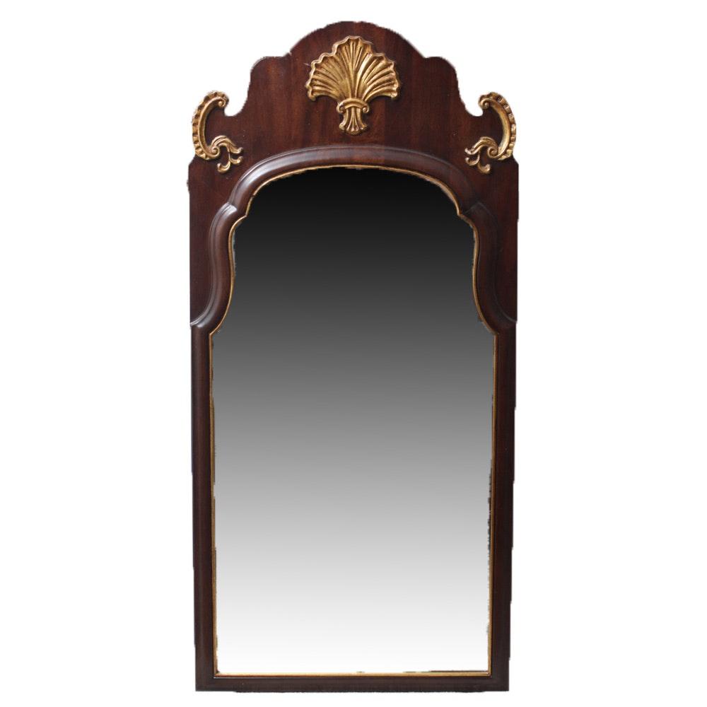 Henredon Walnut Wall Mirror