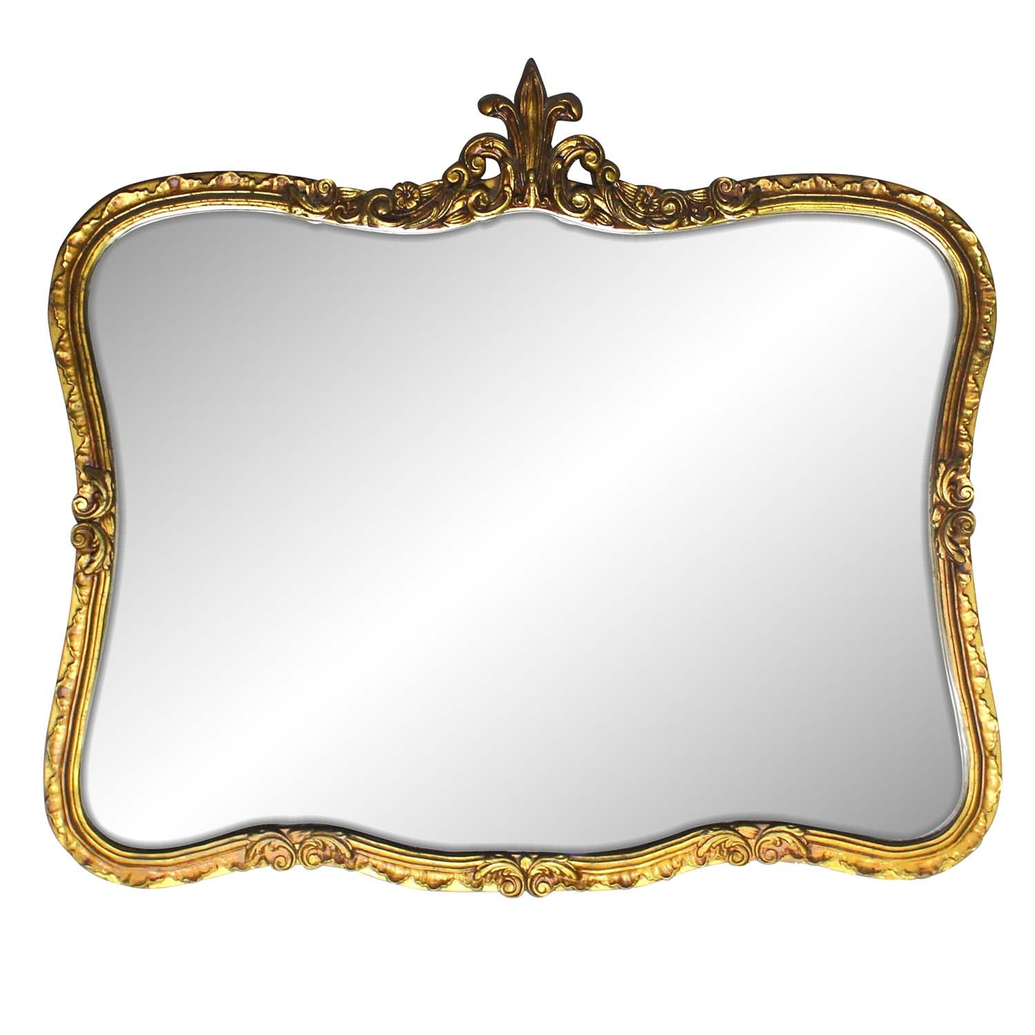 Gilded Ornate Wall Mirror