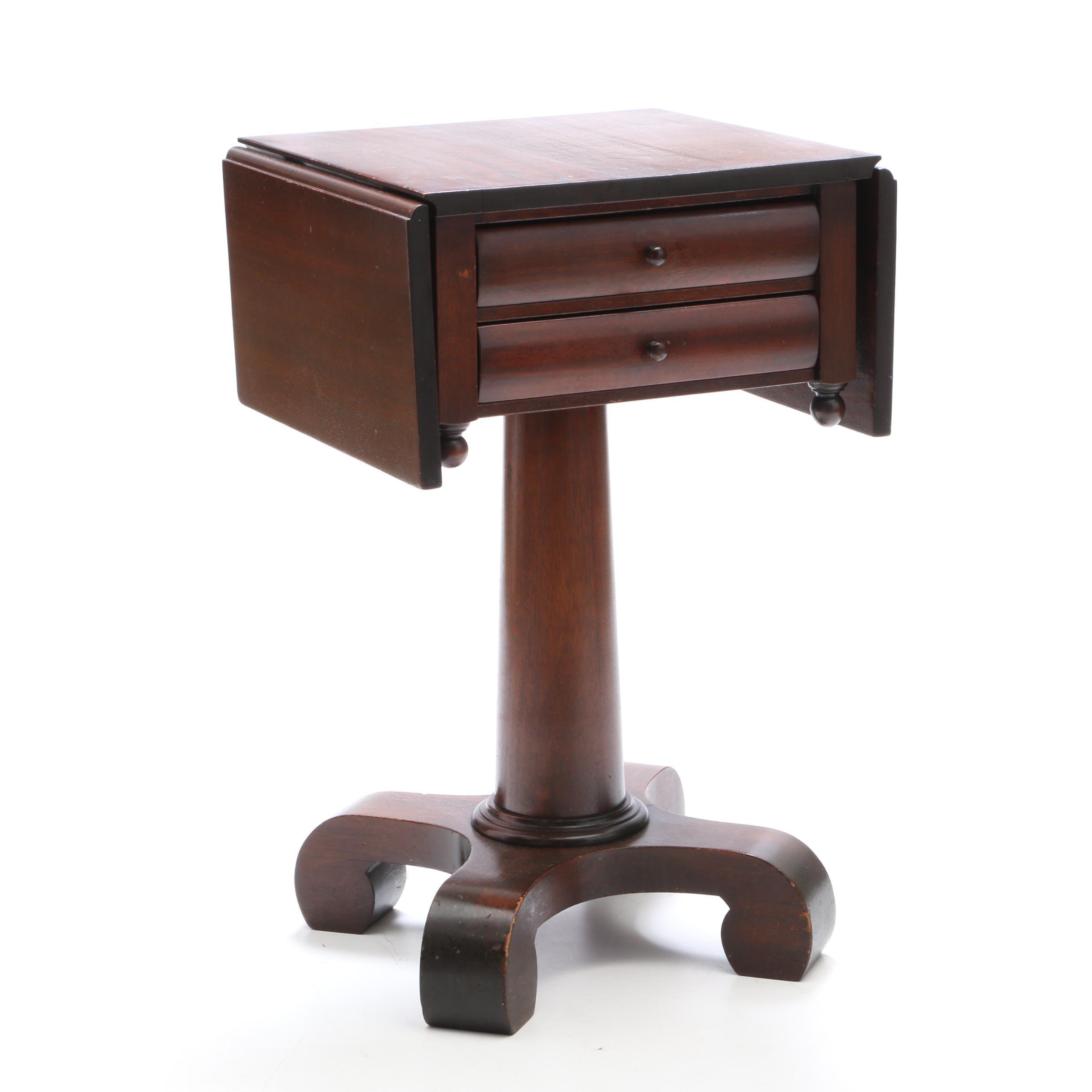 Vintage Drop Leaf Side Table by The Robert Mitchell Furniture Cincinnati