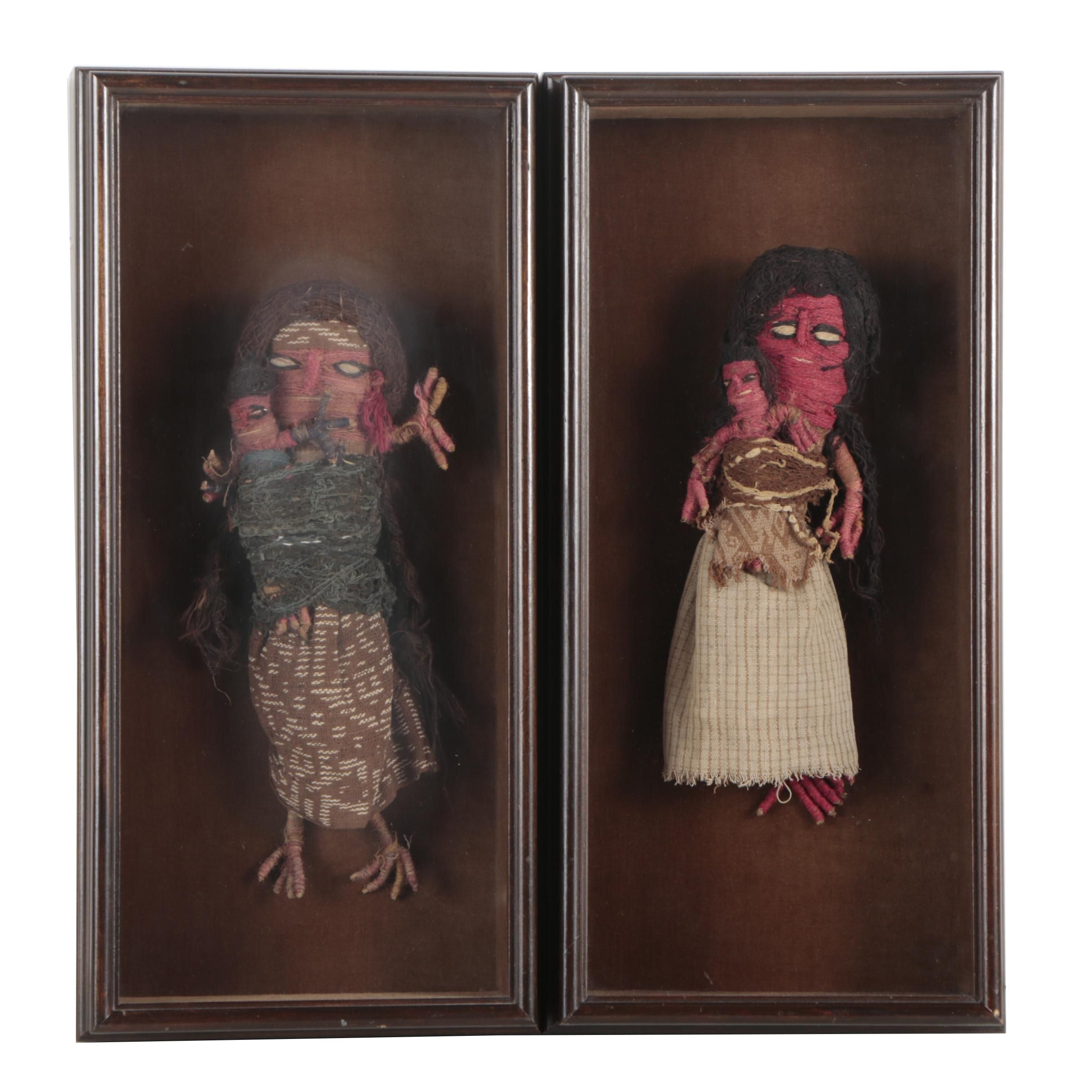 Chancay Style Peruvian Burial Dolls