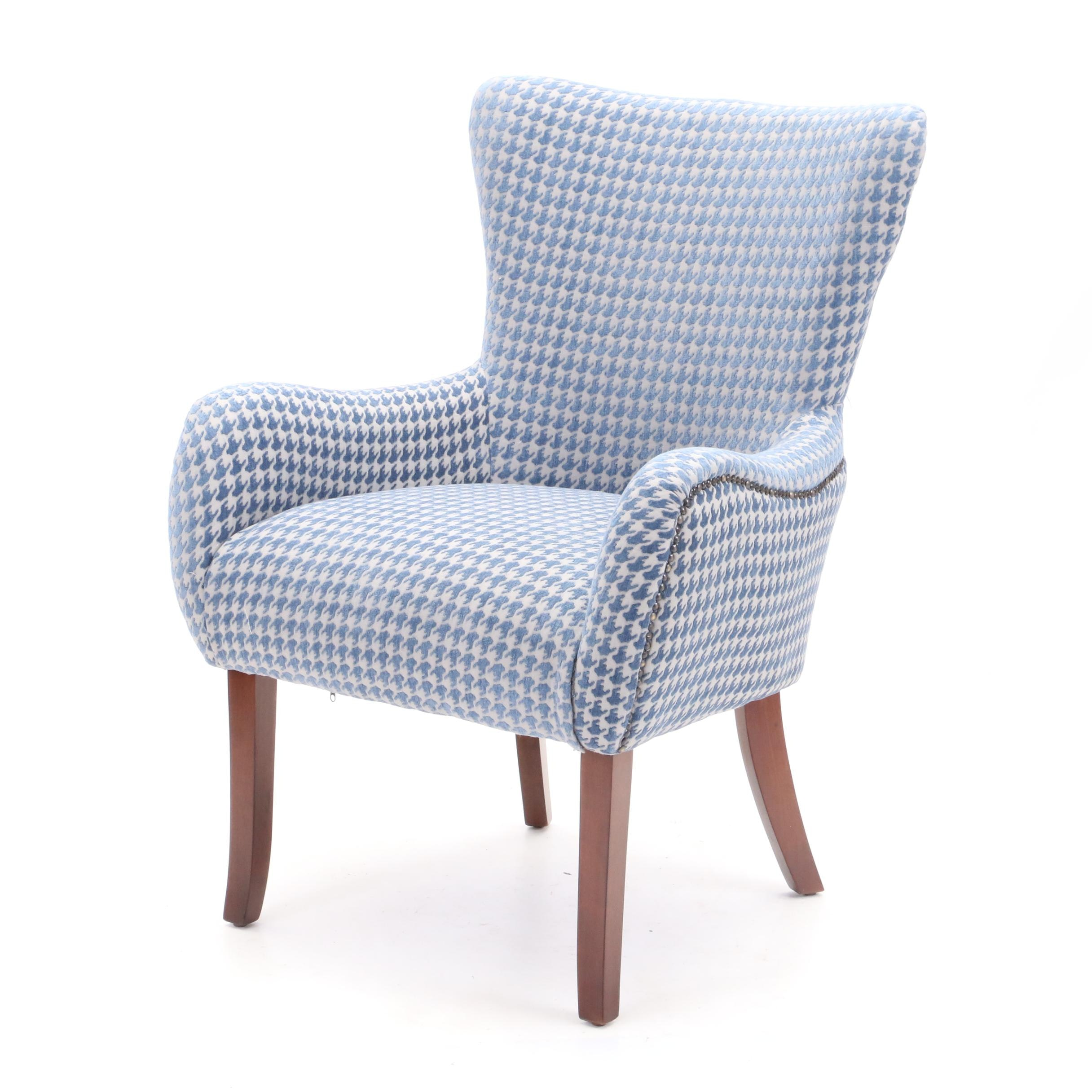 Contemporary Wing Back Armchair