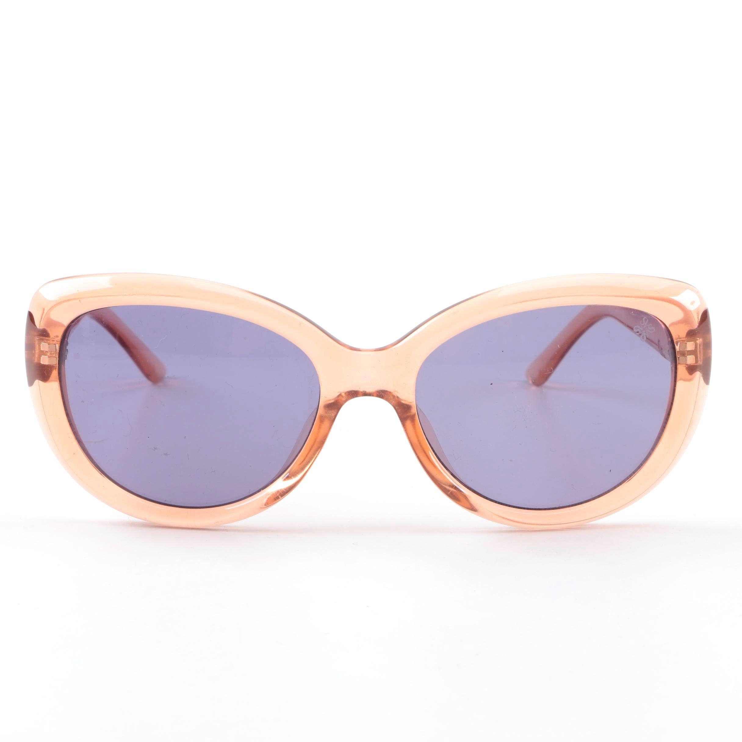 Vera Wang Simply Vera Cat Eye Style Sunglasses
