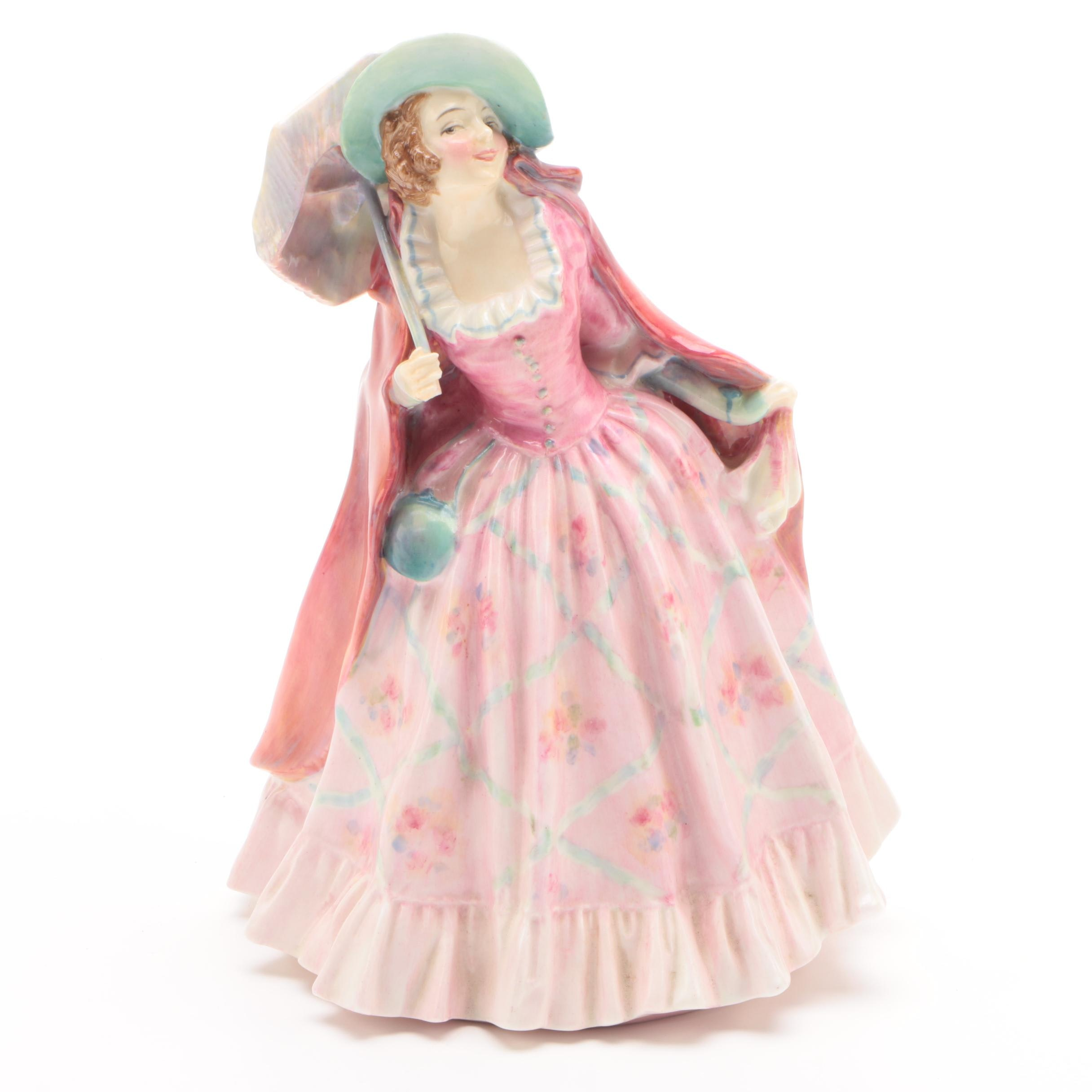 "Royal Doulton ""Mirabel"" Porcelain Figurine, Early 20th Century"