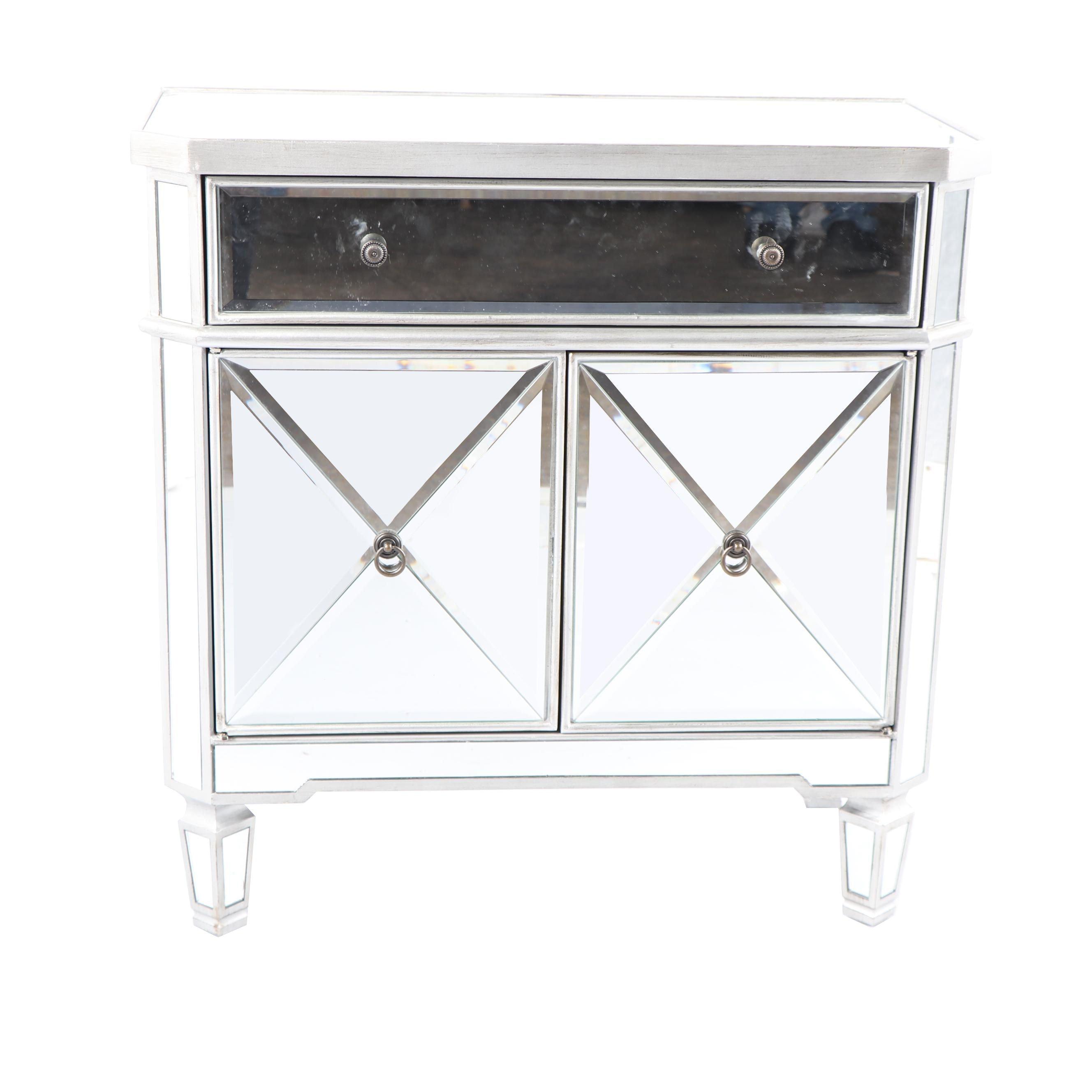 Mirrored Small Cabinet
