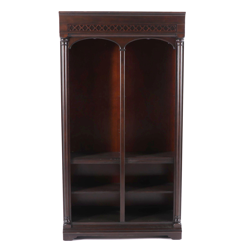Neoclassical Style Illuminated Bookcase