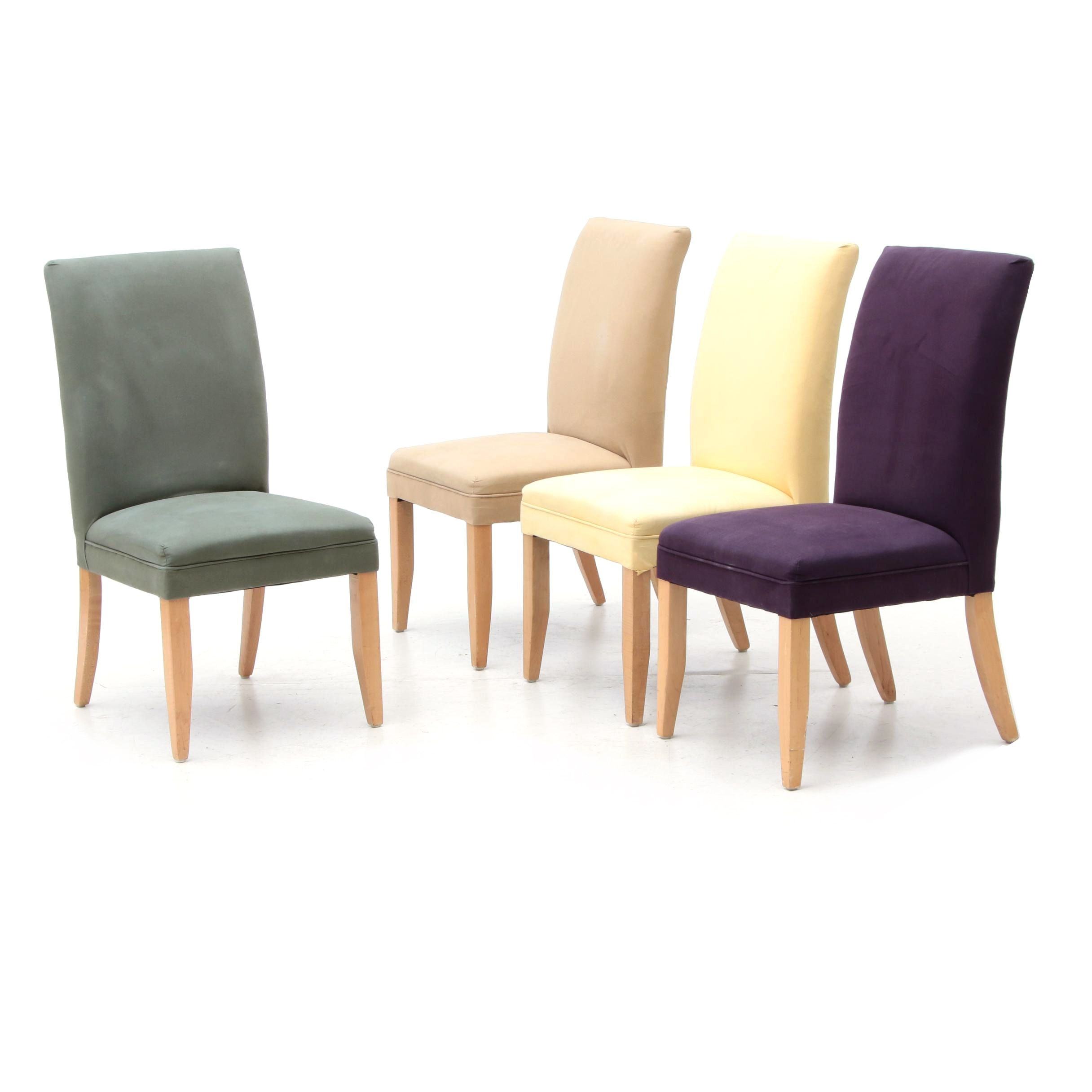 Set of Upholstered Side Chairs