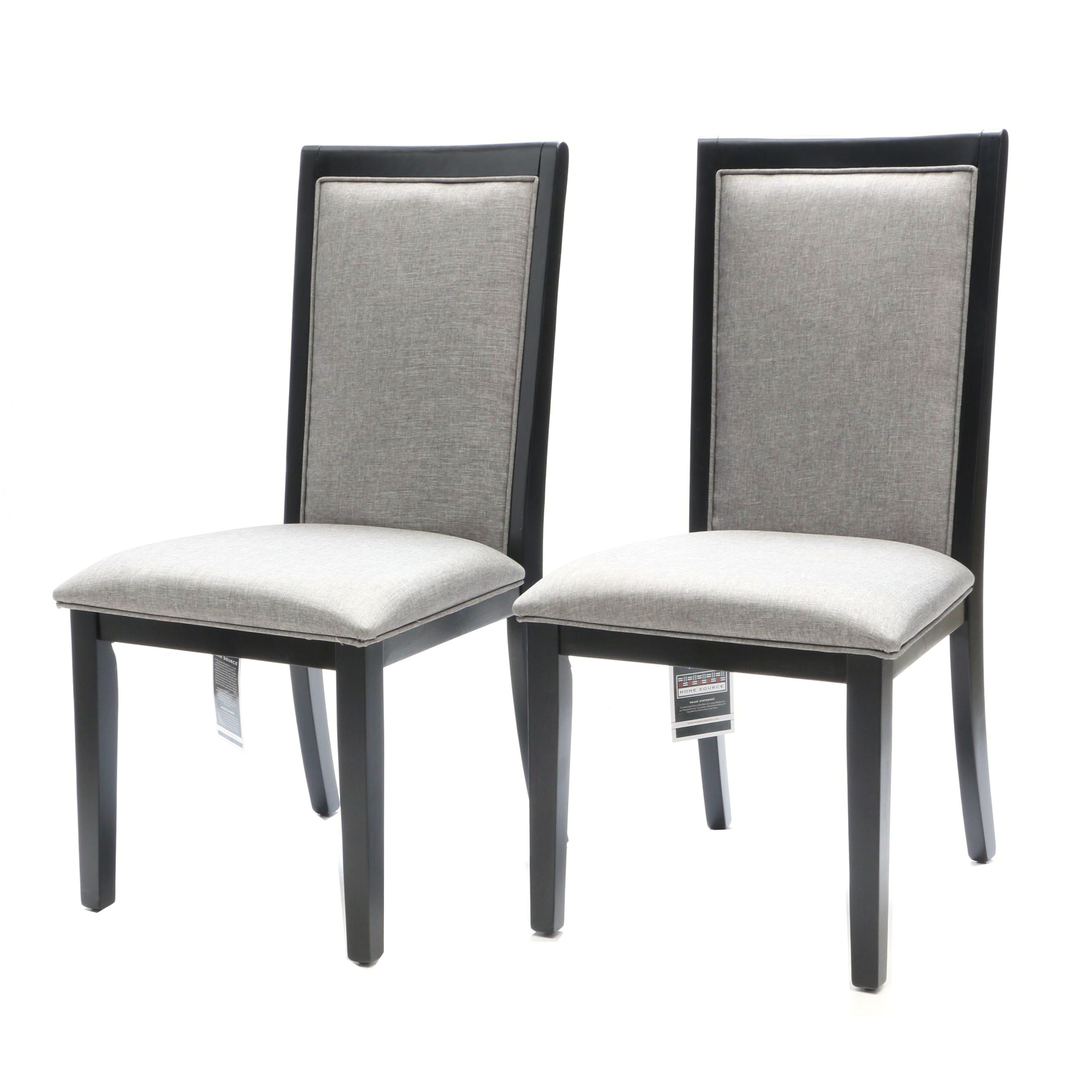 """Contemporary """"Ariana"""" Side Chairs by Home Source"""