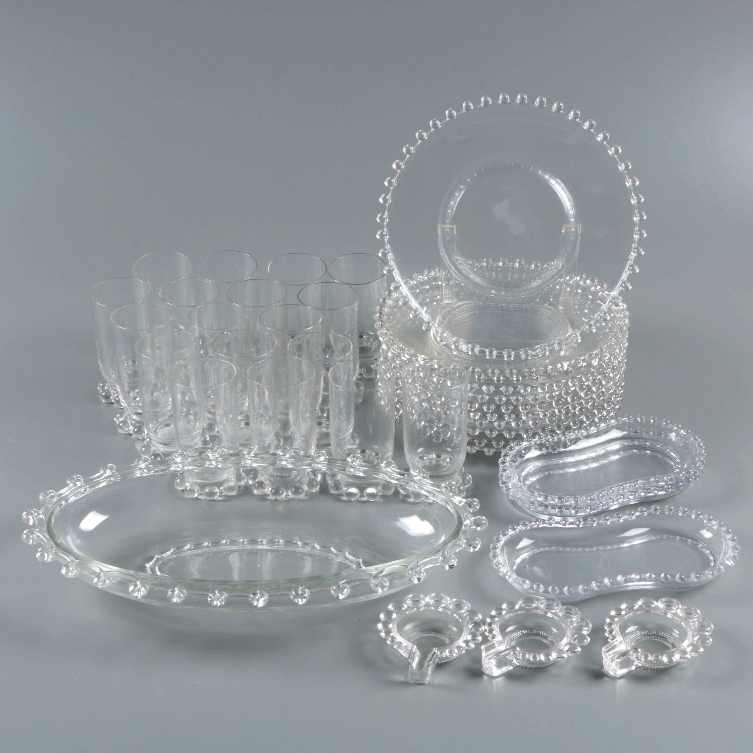 "Vintage Imperial Glass-Ohio ""Candlewick"" Dinnerware"