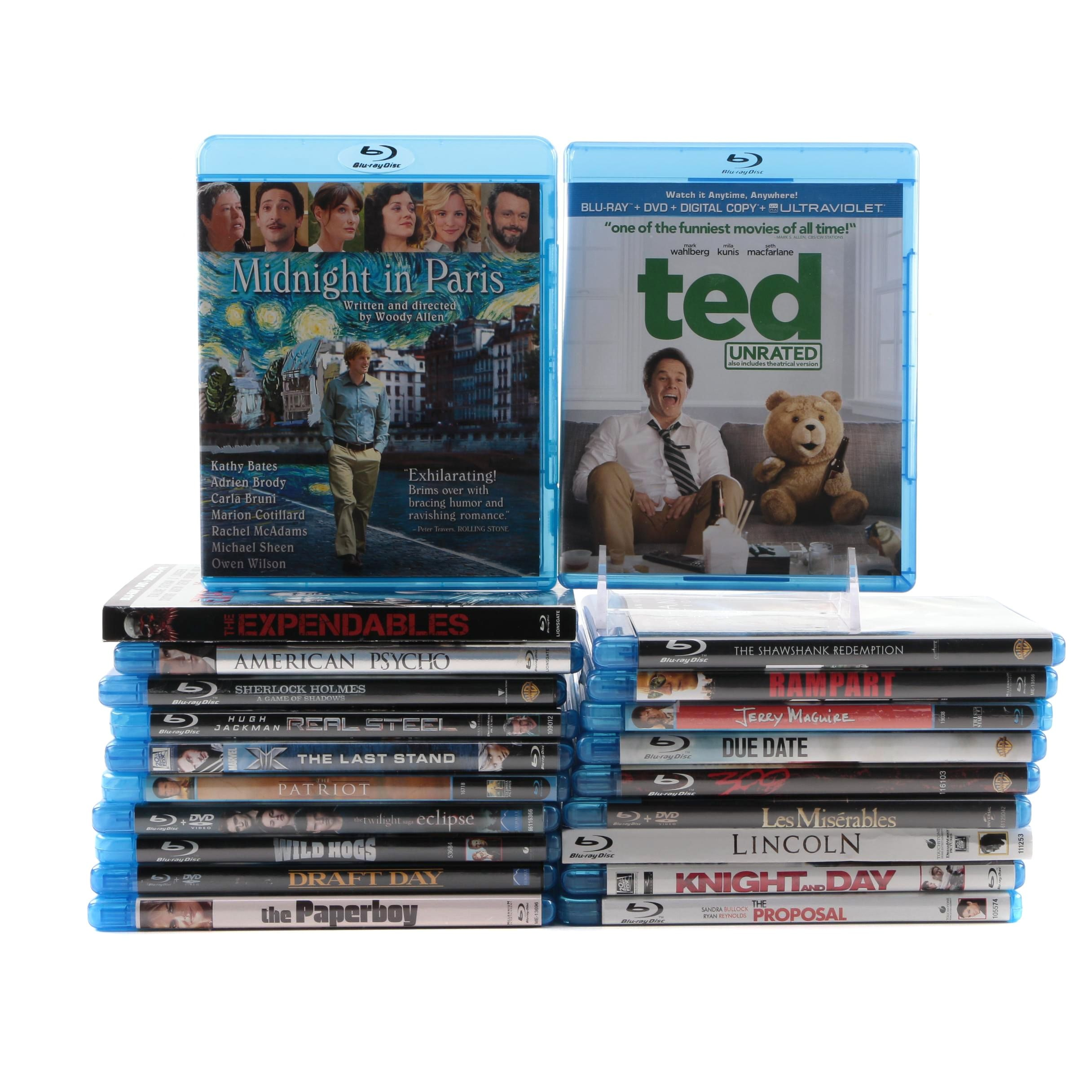 """Blu-Ray and DVD Action, Comedy and Drama Movies including """"Lincoln"""""""