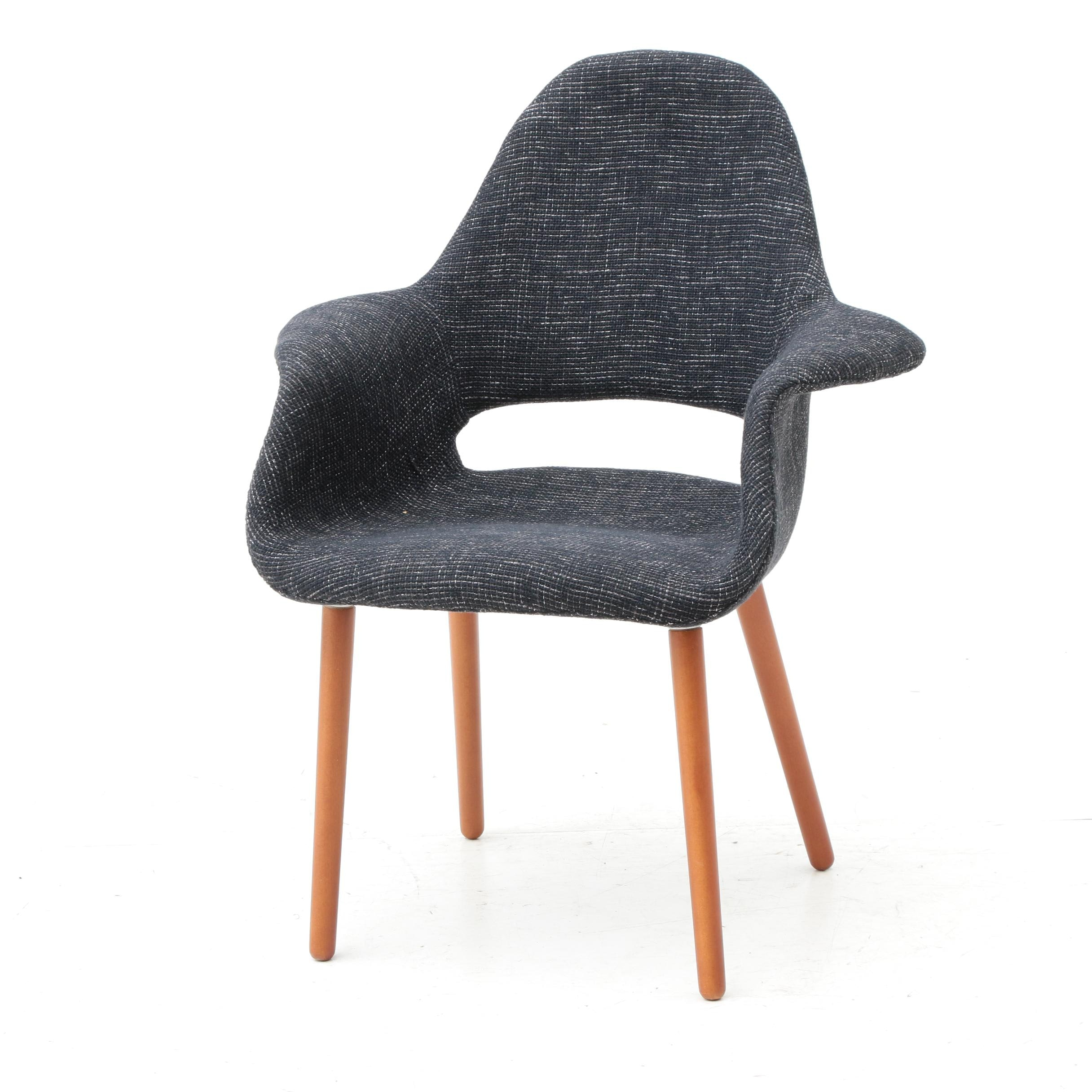 Eames Style Padded Shell Chair