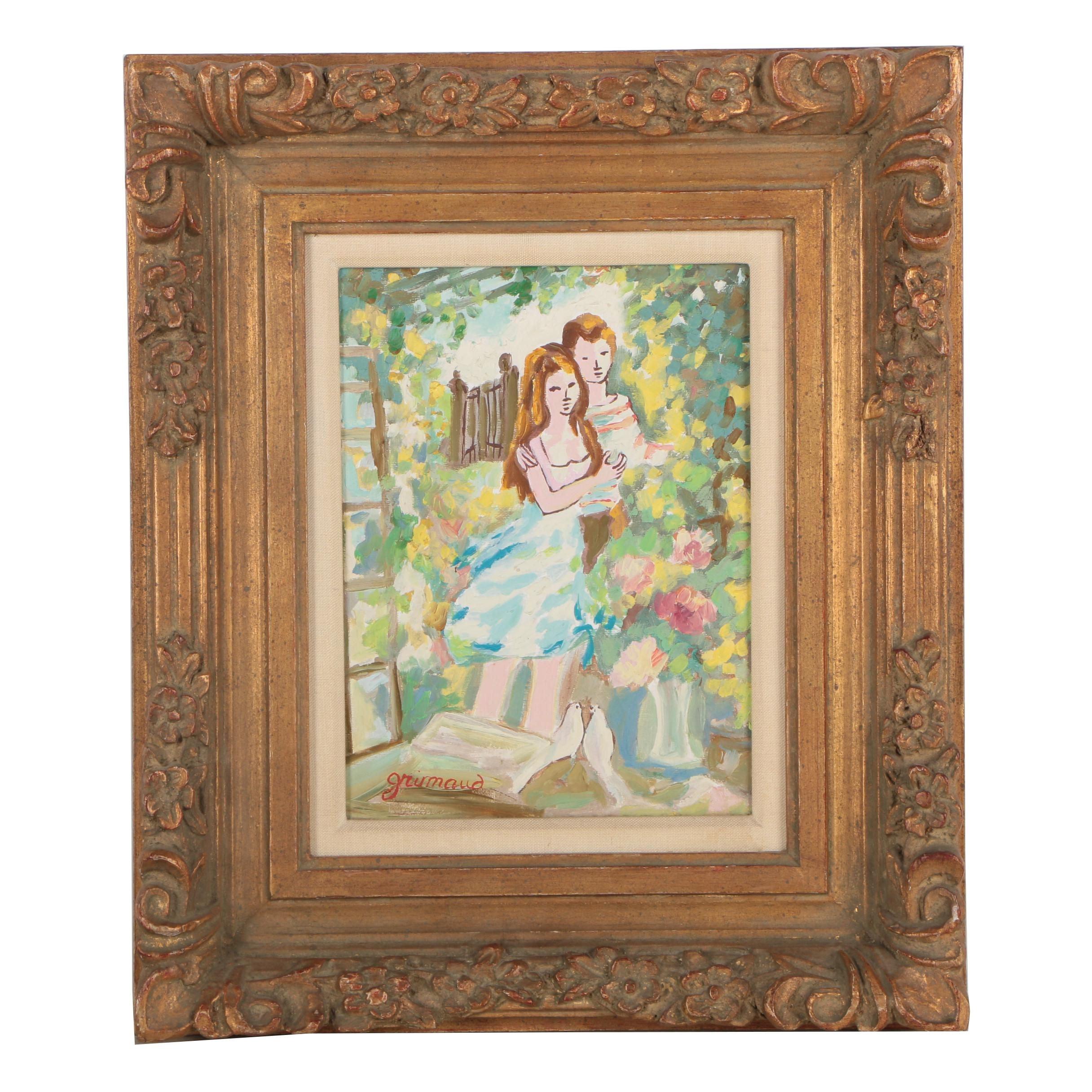 William Grimaud Oil Painting