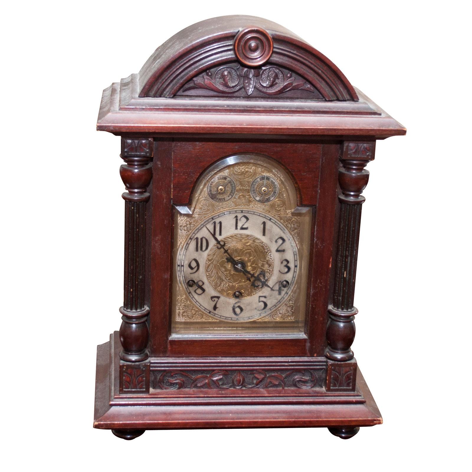 Kienzle German Walnut Mantel Clock