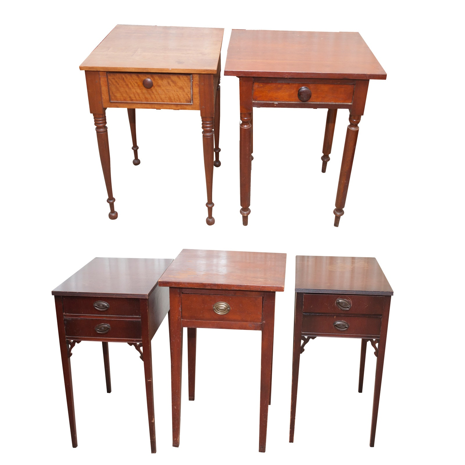 Vintage Project End Tables